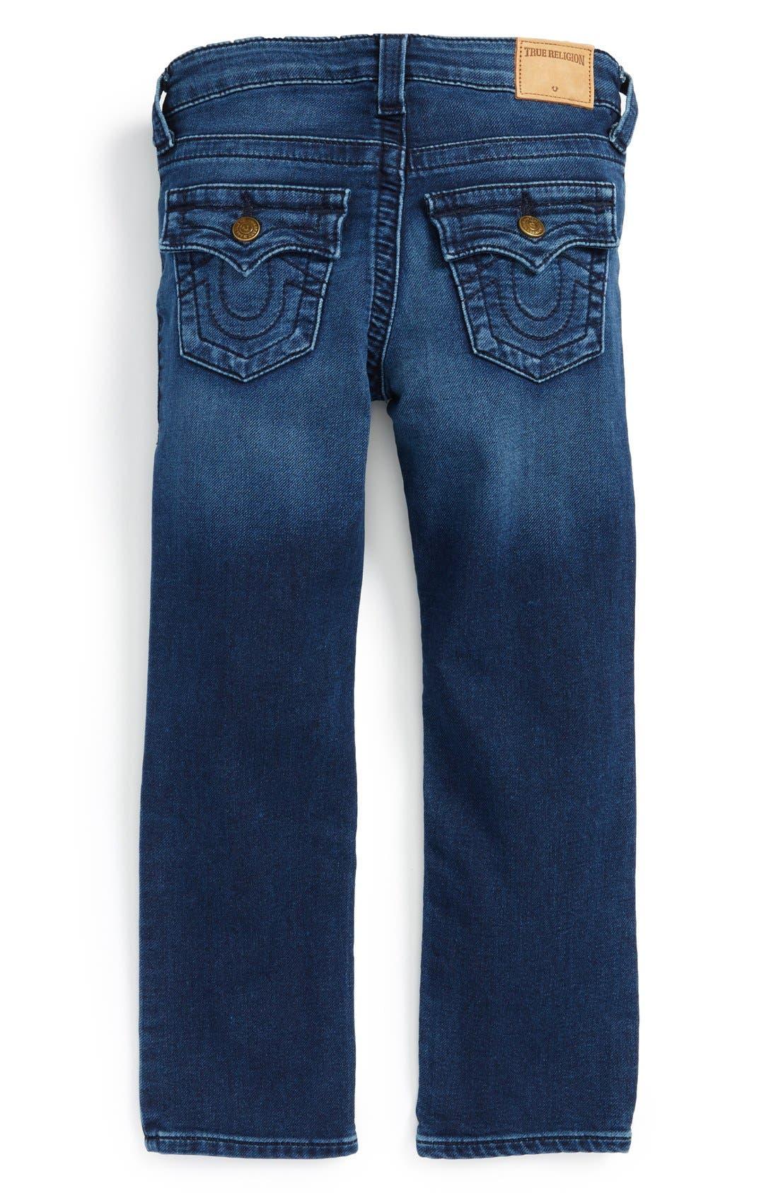 Alternate Image 2  - True Religion Brand Jeans 'Knit Sweatpant' Jeans (Toddler Boys & Little Boys)