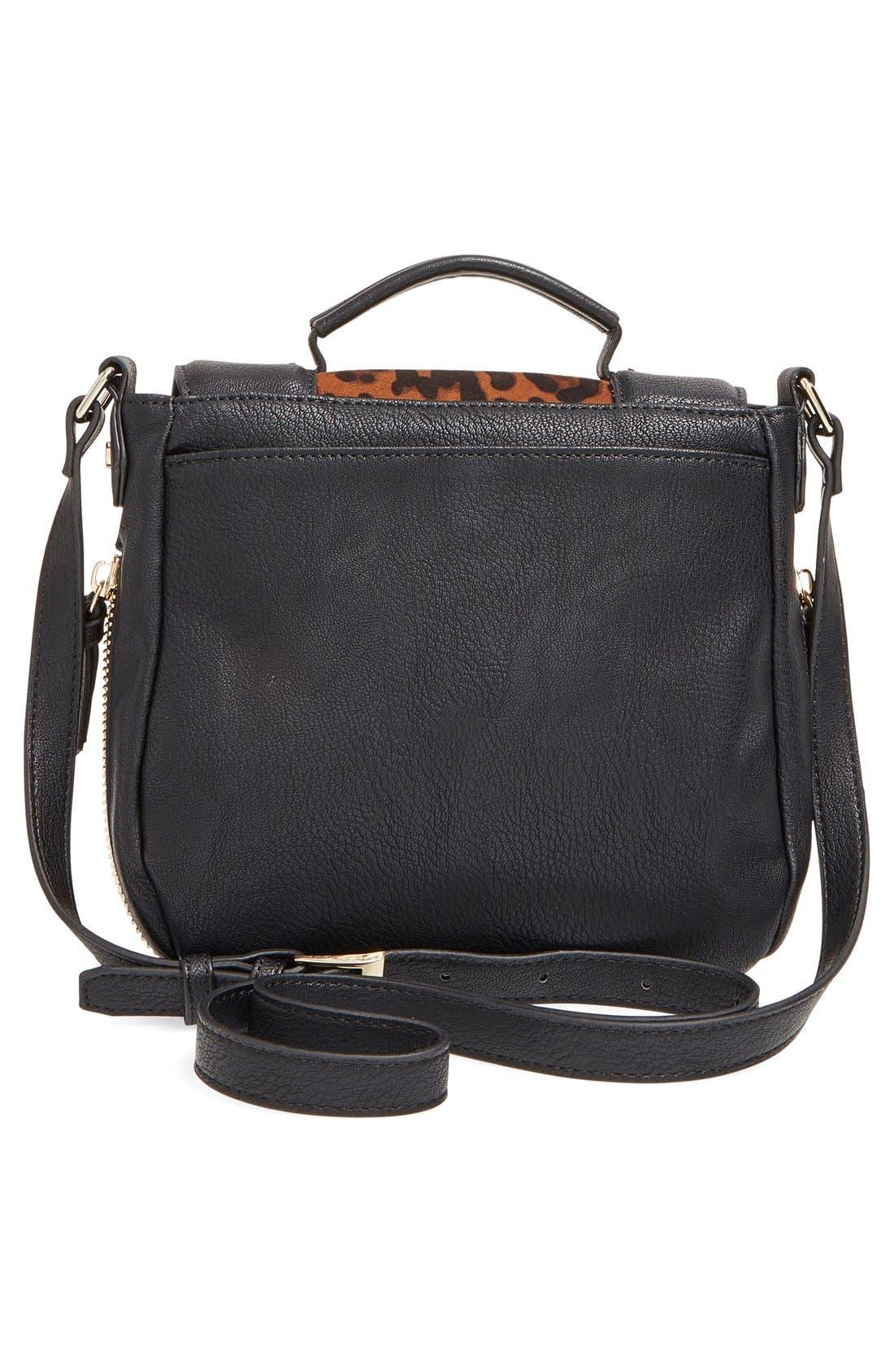 Alternate Image 3  - Big Buddha 'ZJane' Faux Leather Crossbody Flap Bag