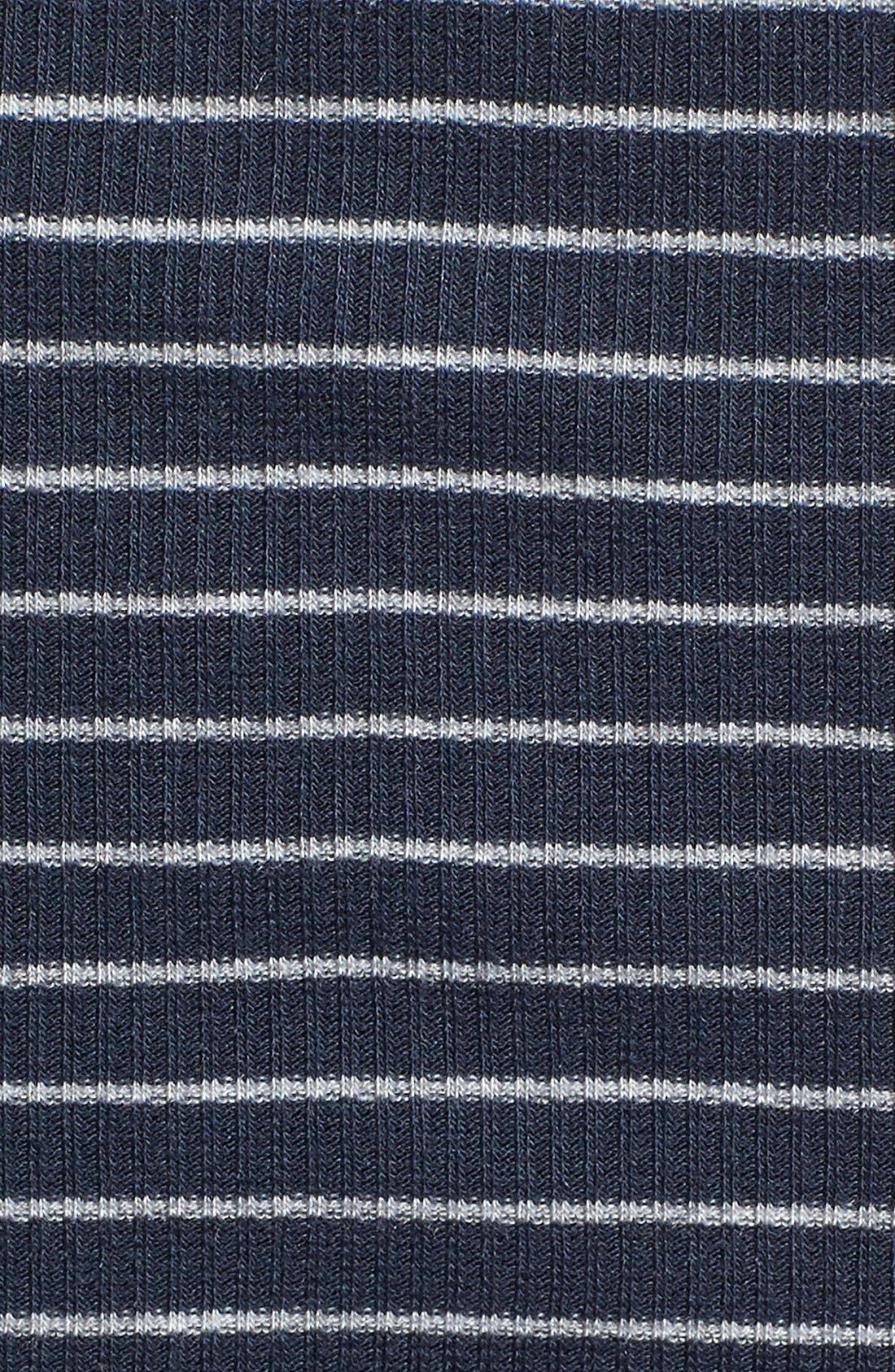 Alternate Image 6  - Lush Stripe Tie Front Crop Tank