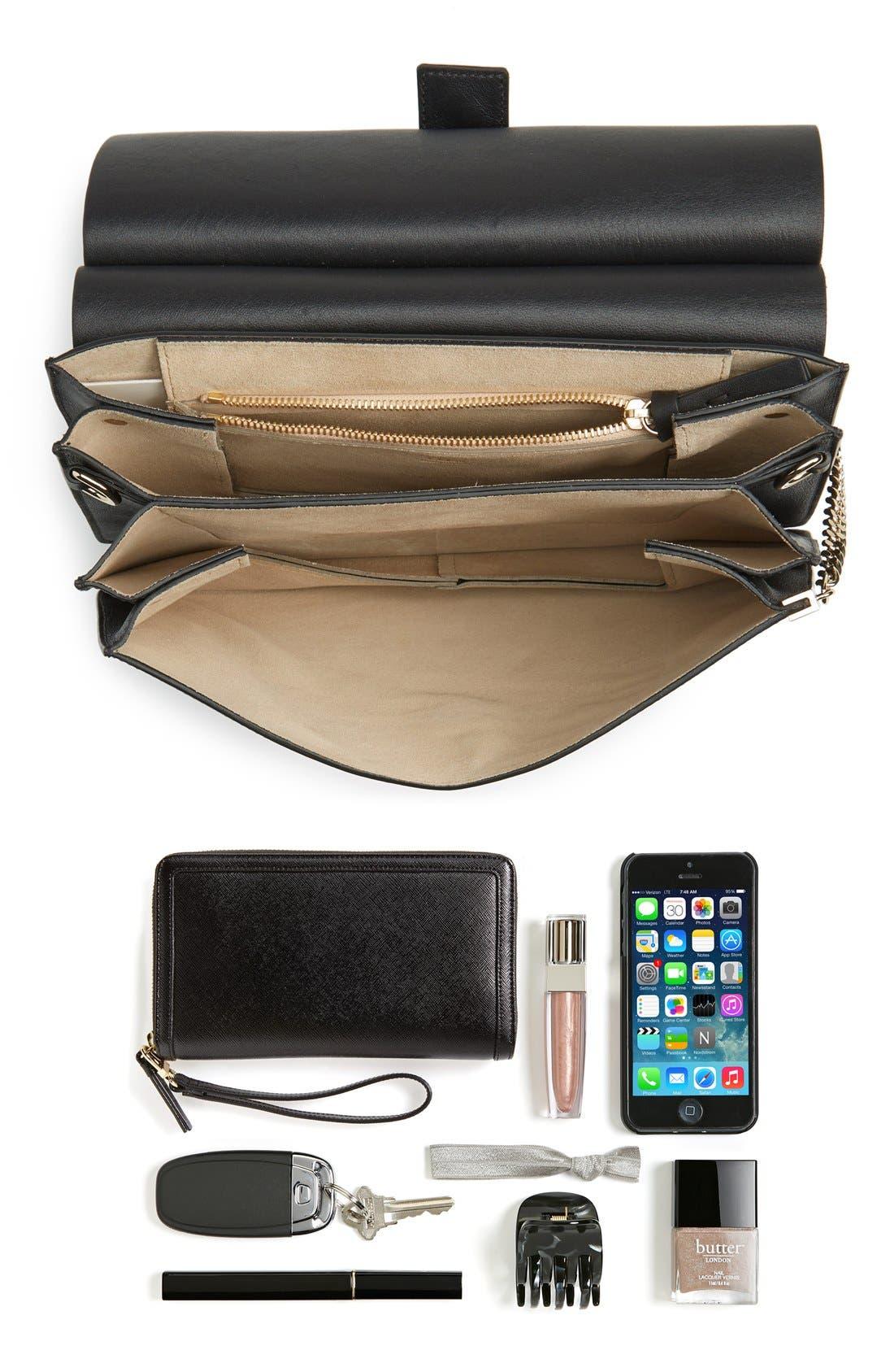 Alternate Image 6  - Chloé 'Faye' Leather & Suede Shoulder Bag