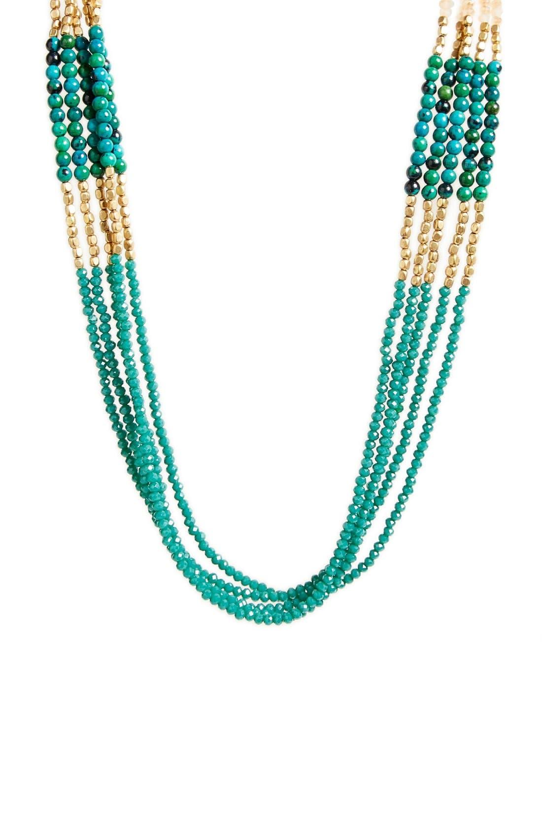 Alternate Image 2  - Panacea Crystal & Stone Multistrand Necklace