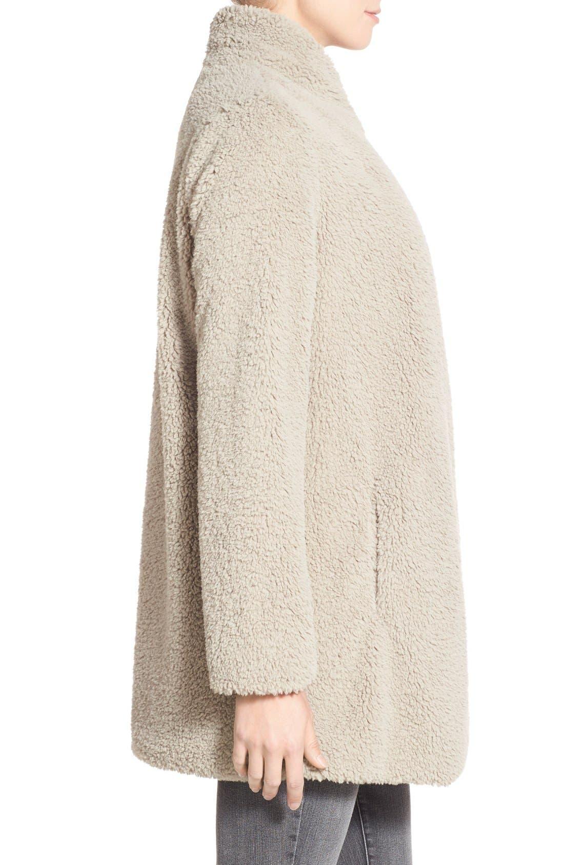 Alternate Image 3  - BB Dakota 'Daylin' Faux Fur One Button Coat