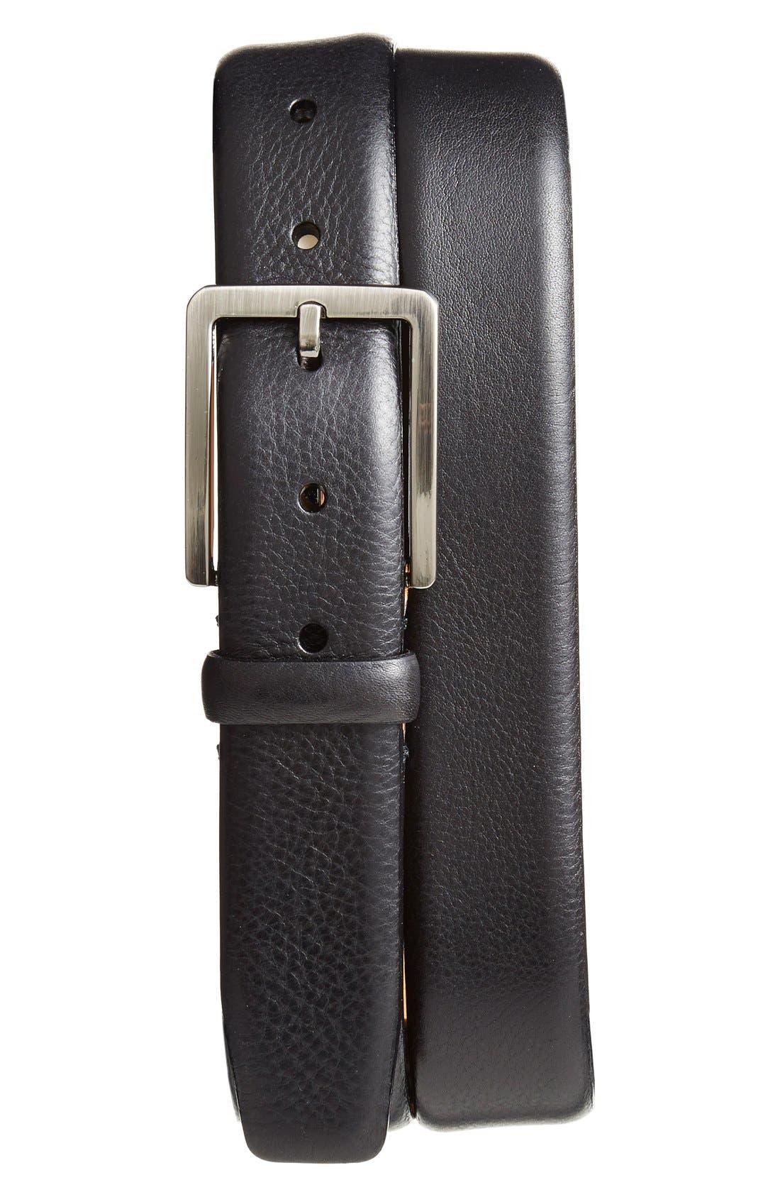 Alternate Image 1 Selected - Trafalgar 'Kane' Leather Belt