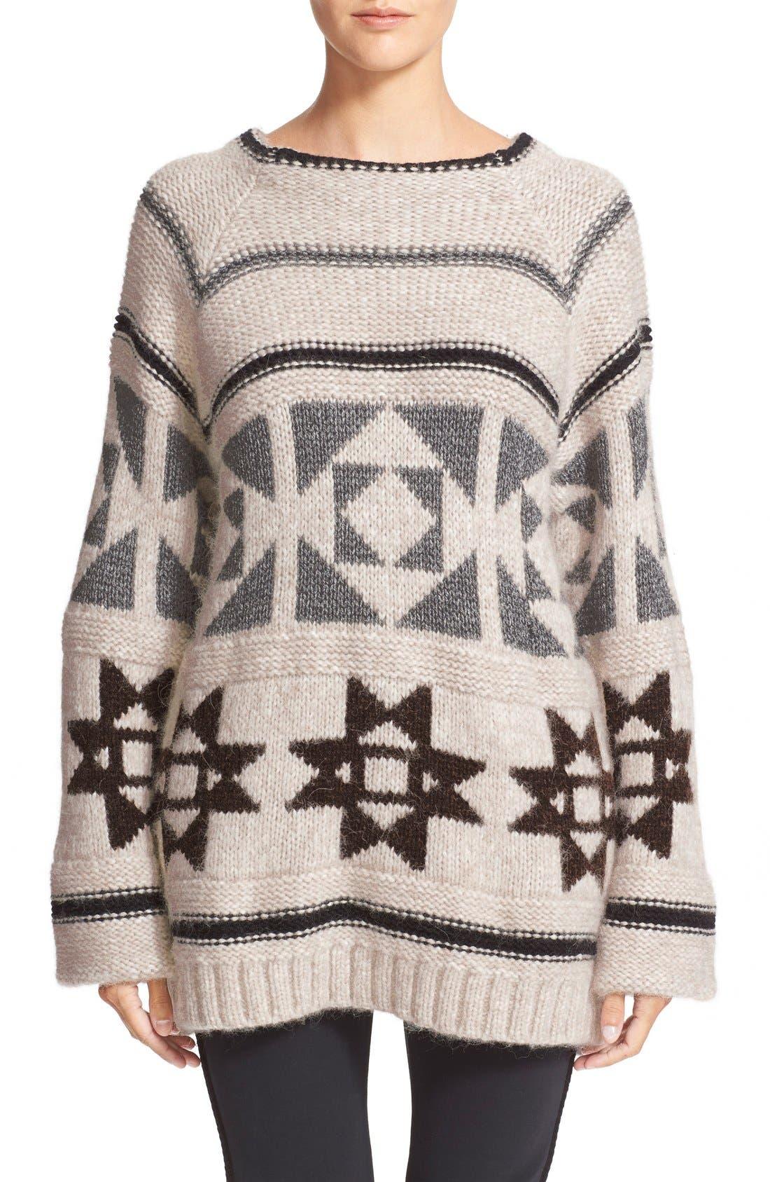 Alternate Image 1 Selected - Loma'Raine' Alpaca BlendSweater