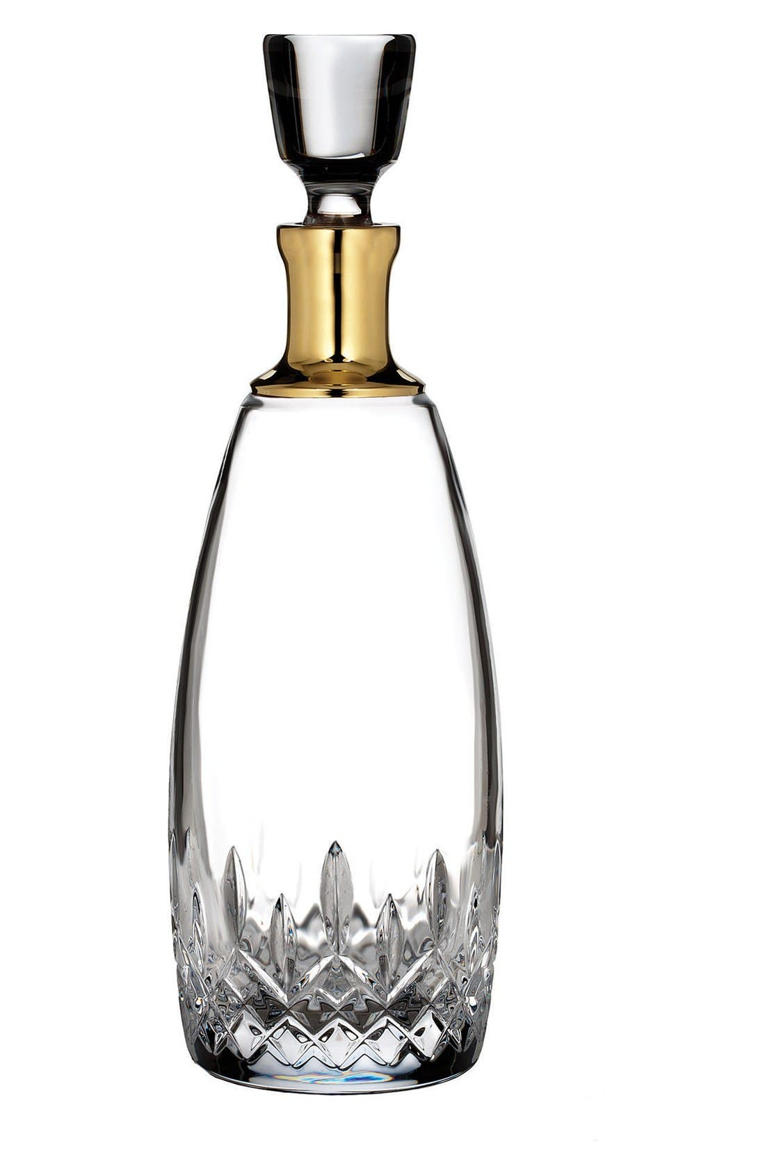 Waterford 'Lismore Essence Gold' Lead Crystal Decanter