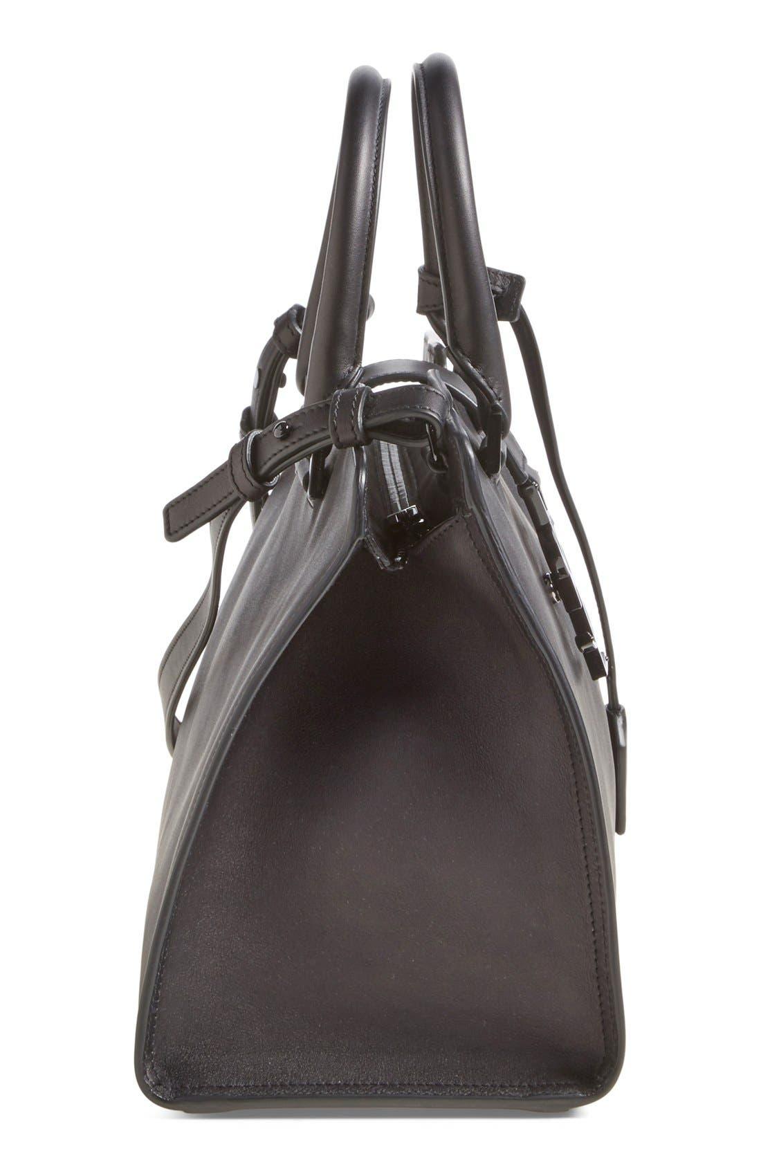 Alternate Image 5  - Saint Laurent 'Small Cabas' Leather Satchel