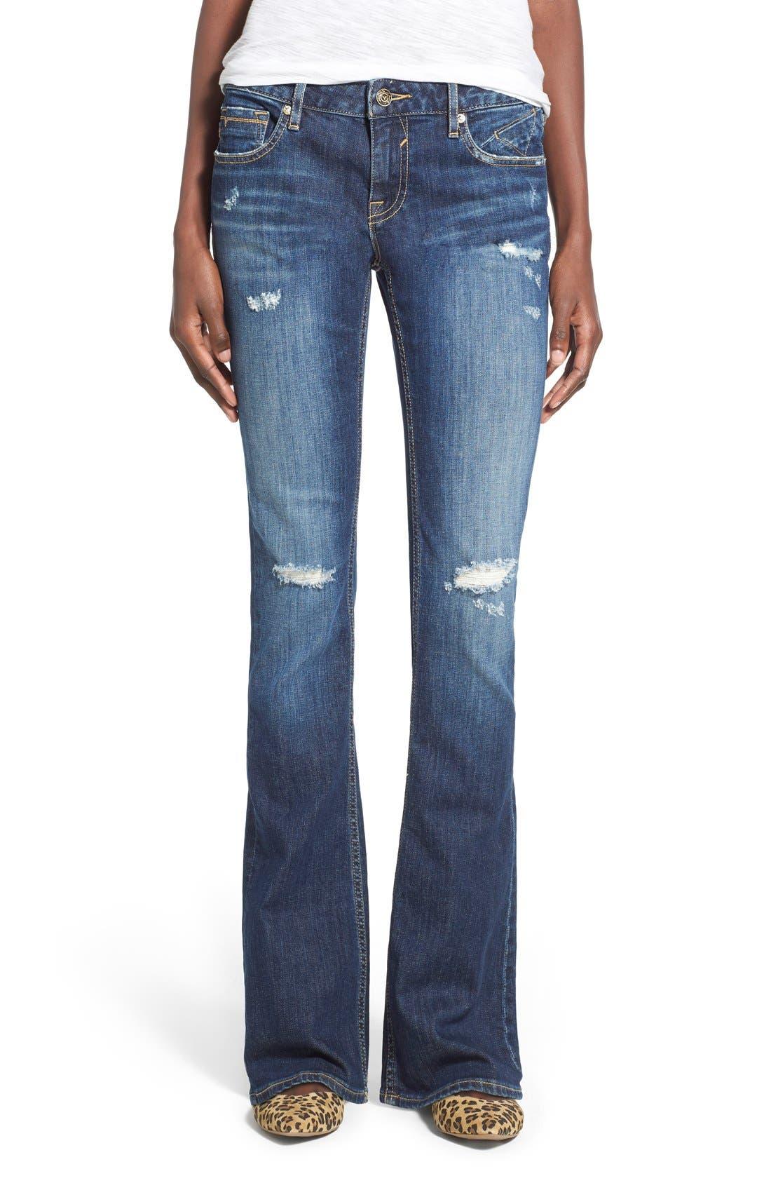 Alternate Image 1 Selected - Vigoss 'Chelsea' Bootcut Jeans (Dark Wash)