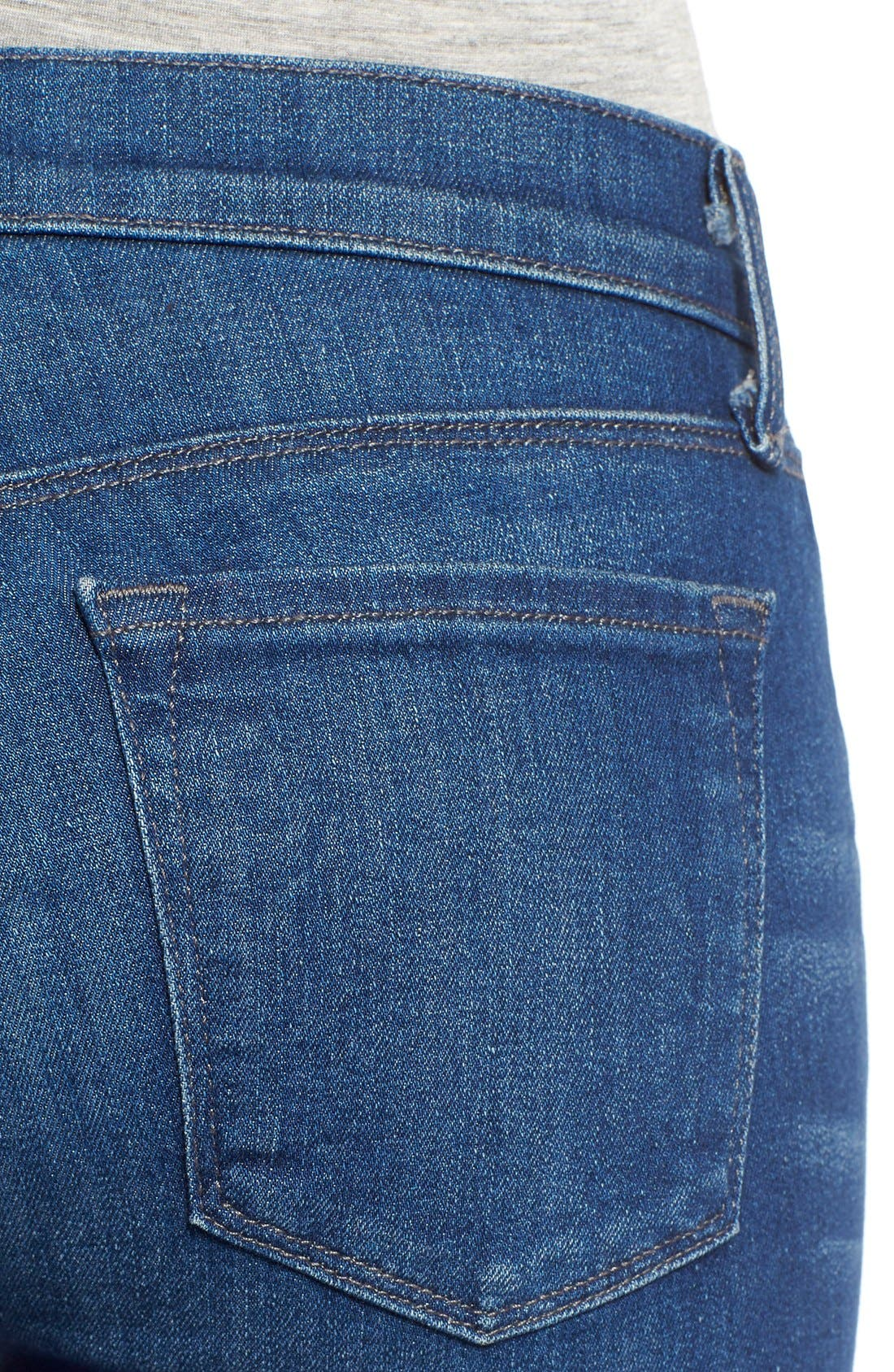 Alternate Image 4  - J Brand Super Skinny Jeans (Enigma)