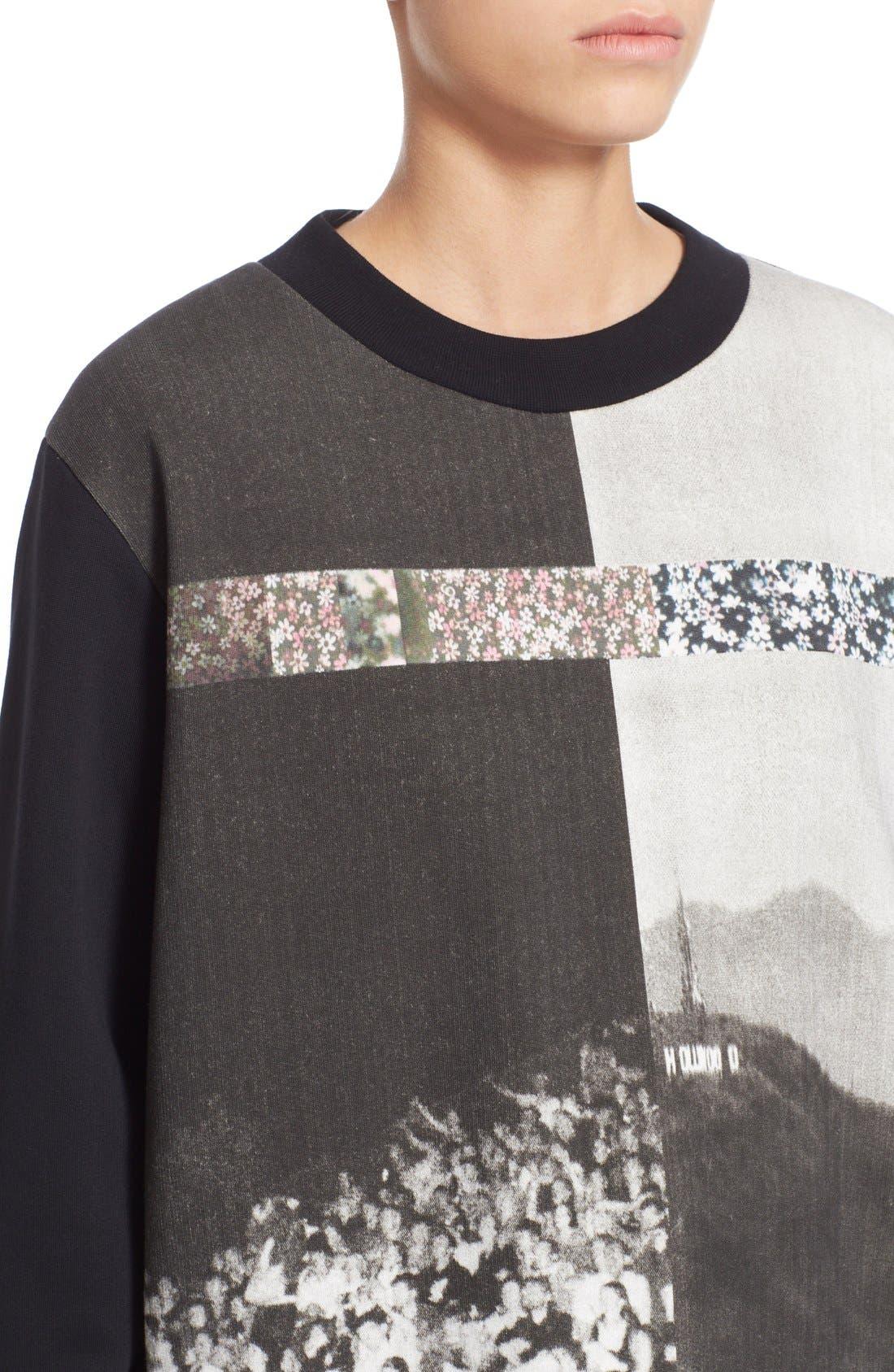Alternate Image 4  - MM6 Maison Margiela Photo Print Graphic Sweatshirt