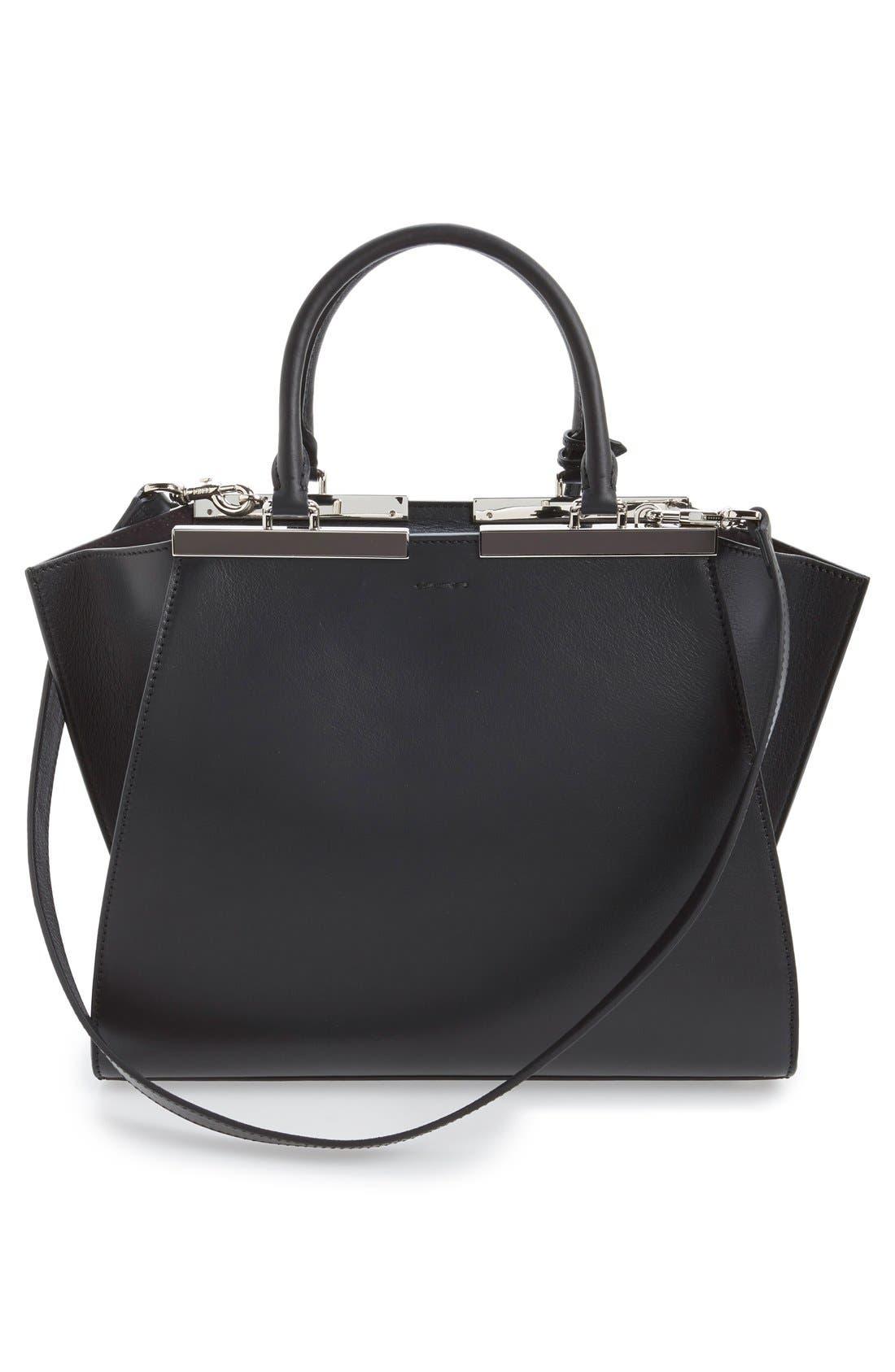 Alternate Image 3  - Fendi '3Jours' Leather Shopper