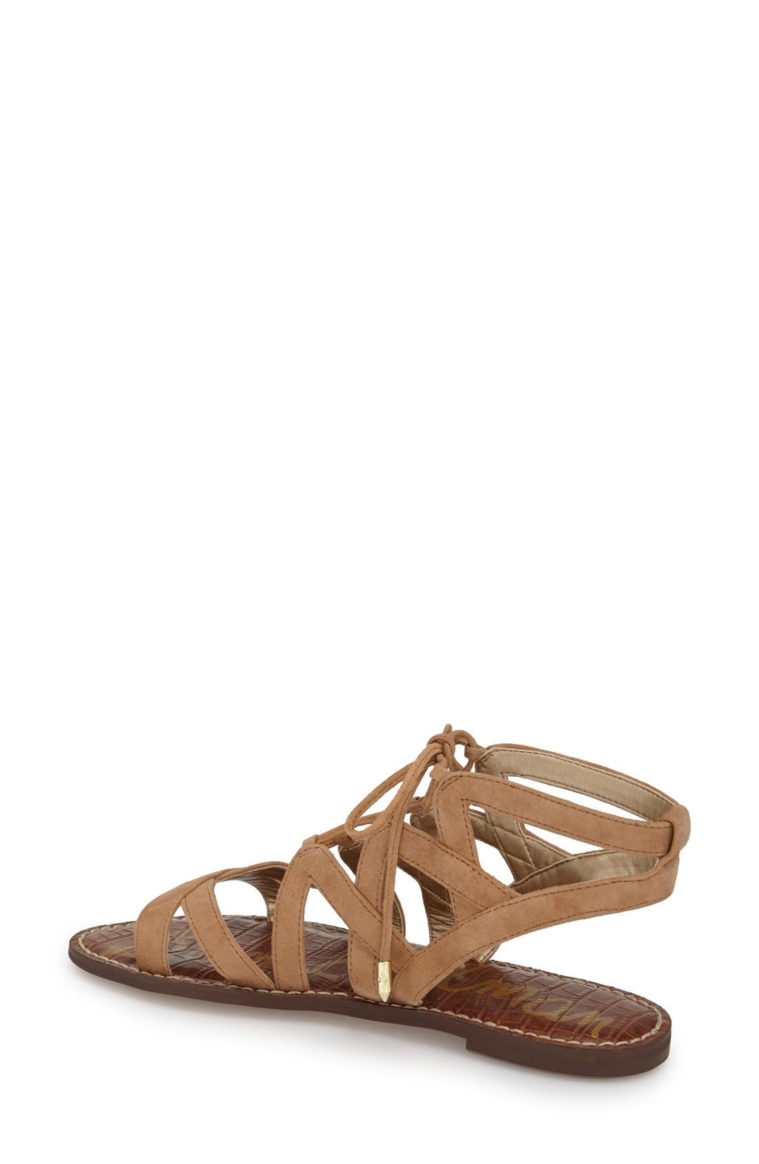 Alternate Image 2  - Sam Edelman 'Gemma' Lace-Up Sandal (Women)