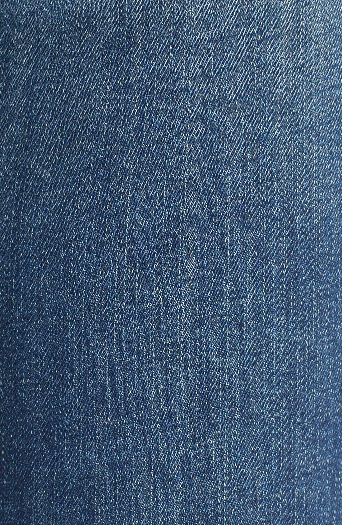 Alternate Image 5  - J Brand Destroyed Skinny Capri Jeans (Breathless)