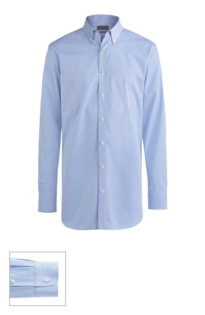 John w nordstrom made to measure extra trim fit button for Extra slim dress shirt