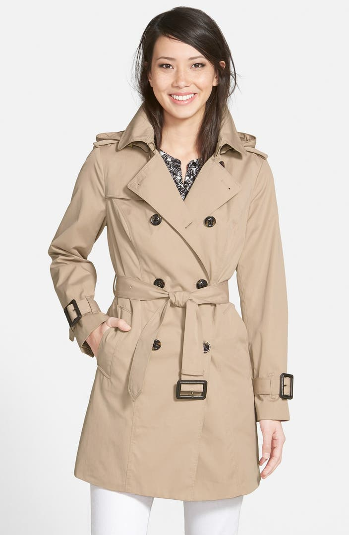 london fog heritage trench coat with detachable liner regular petite nordstrom exclusive. Black Bedroom Furniture Sets. Home Design Ideas