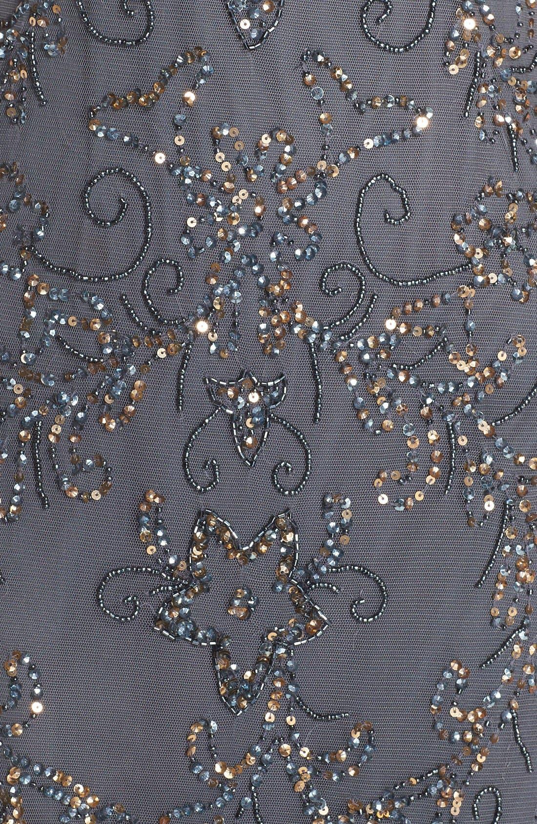 Alternate Image 6  - Pisarro Nights Embellished Mesh Gown