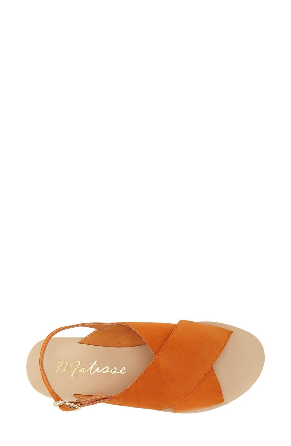 Alternate Image 3  - Matisse 'Arielle' Slingback Sandal (Women)