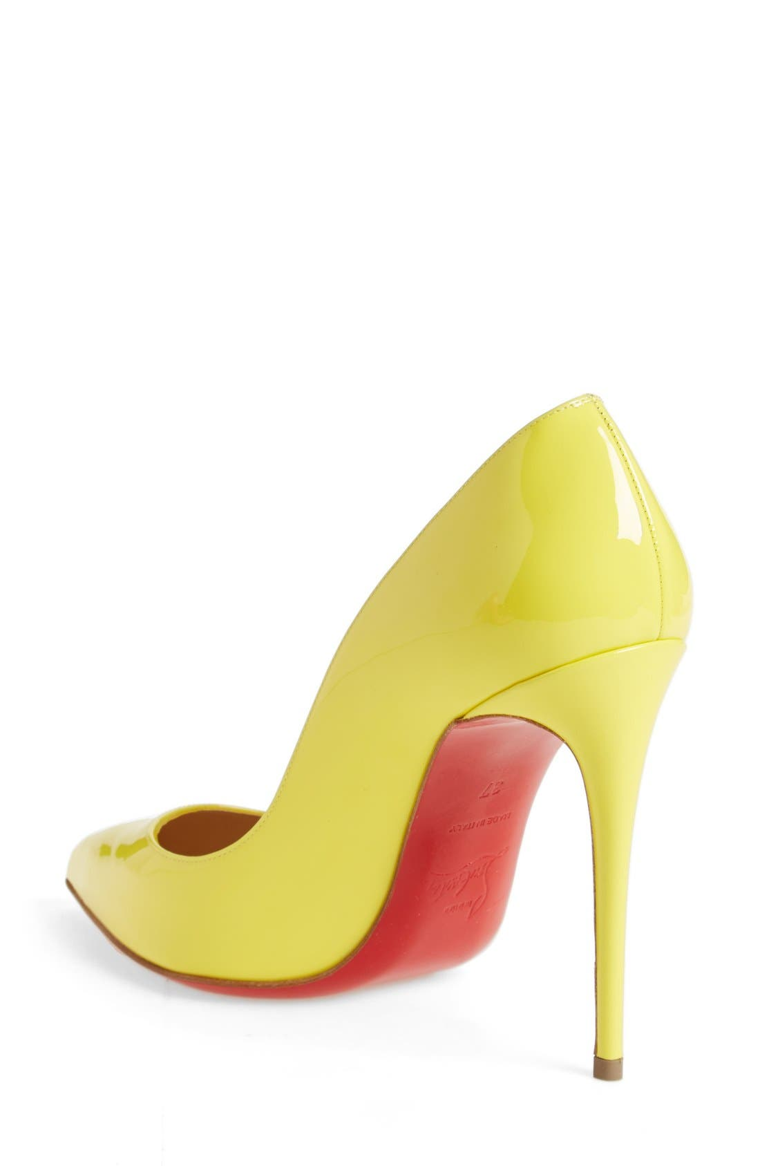 Alternate Image 2  - Christian Louboutin 'Pigalle Follies' Pointy Toe Pump
