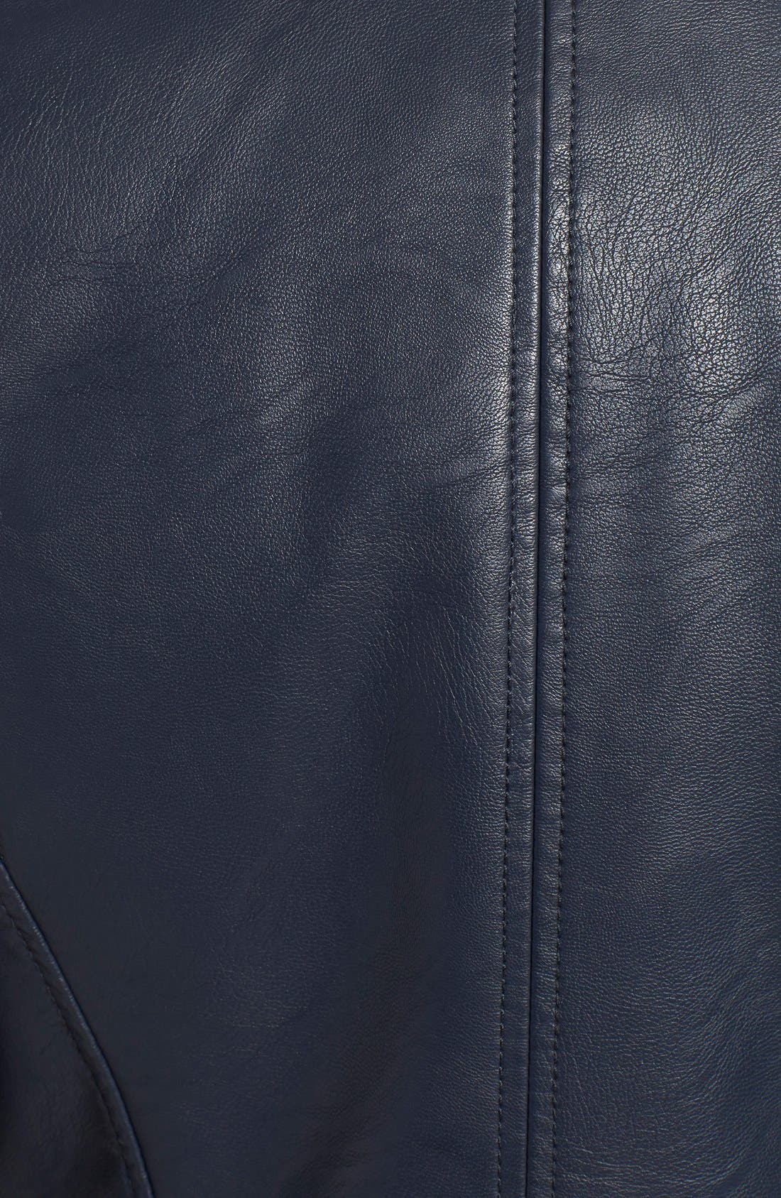 Alternate Image 5  - Levi's® Faux Leather Moto Jacket
