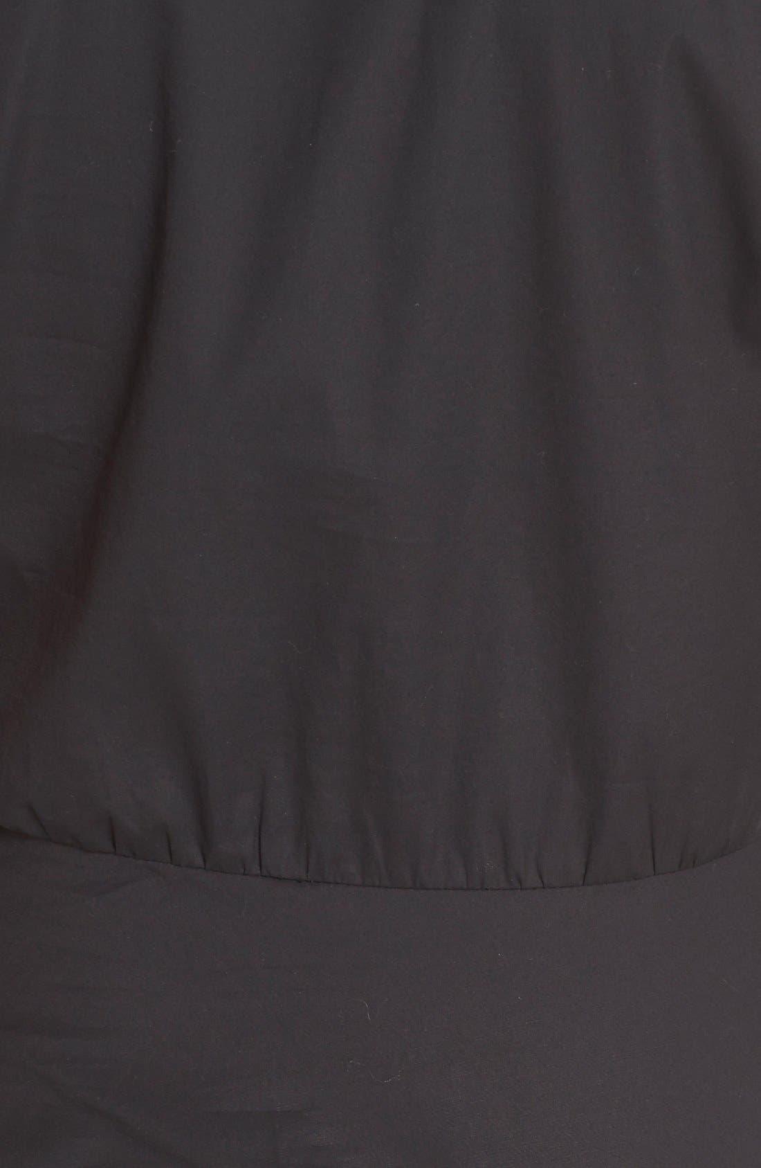 Alternate Image 5  - Veronica Beard 'Fountain' Cap Sleeve Ruched Dress
