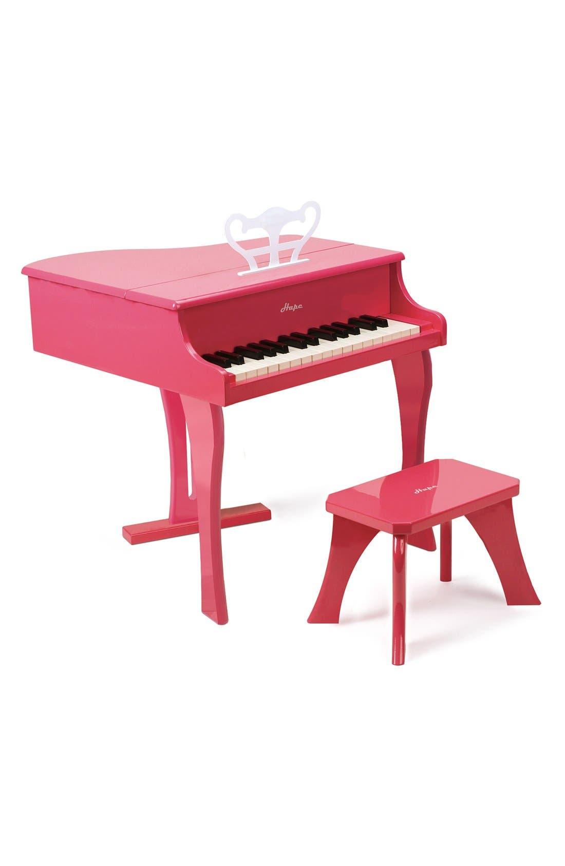 Hape 'Happy Grand' Toy Grand Piano & Bench (Kids)