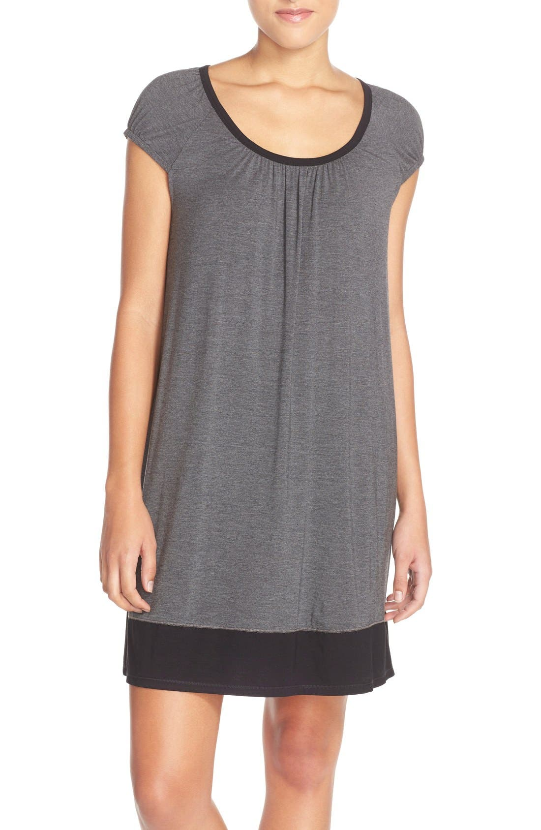 DKNY 'Urban Essentials' Stretch Modal Sleep Shirt