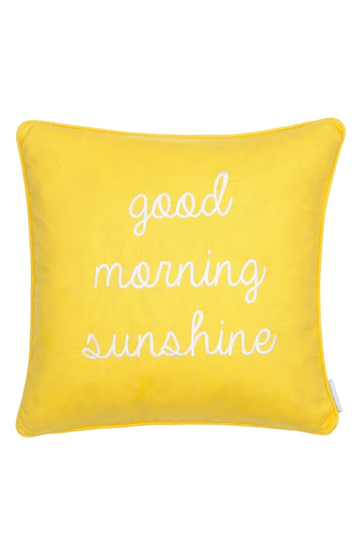 Shortstraw Good Morning Sunshine Zip : Levtex good morning sunshine pillow nordstrom