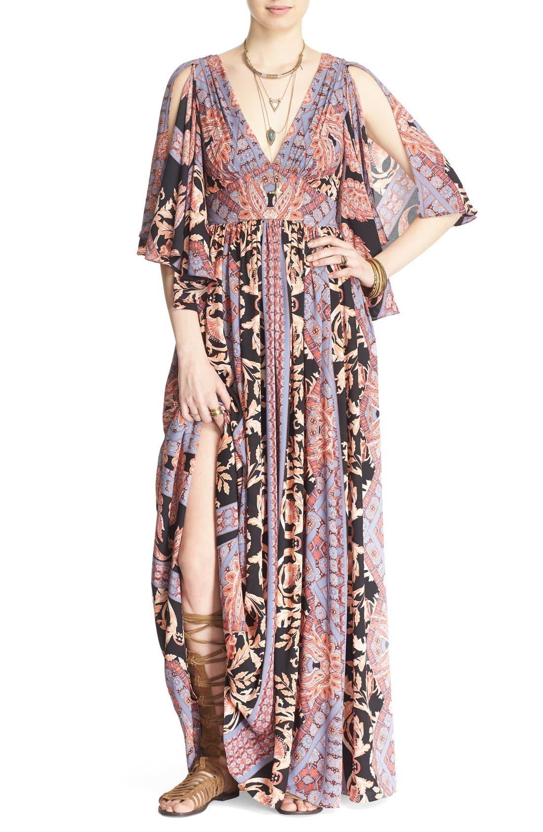 Alternate Image 1 Selected - Free People 'Fern' Print Maxi Dress