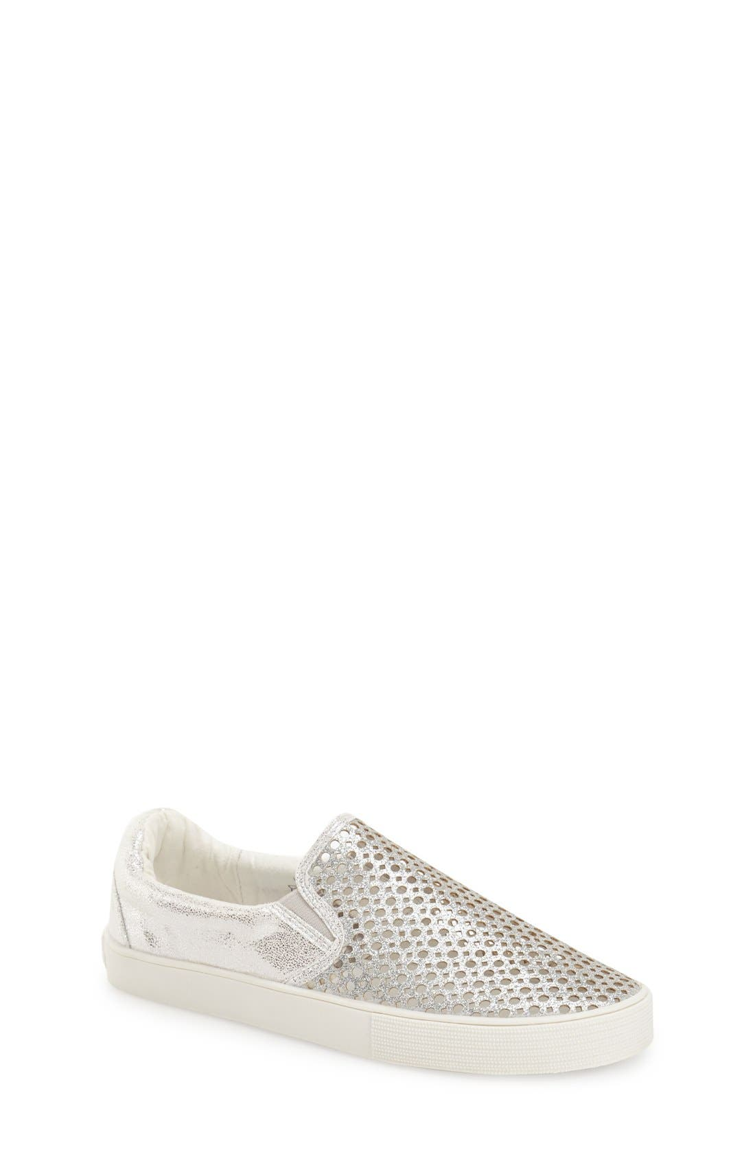 Stuart Weitzman 'Vance' Slip-On Sneaker (Little Kid & Big Kid) (Online Only)