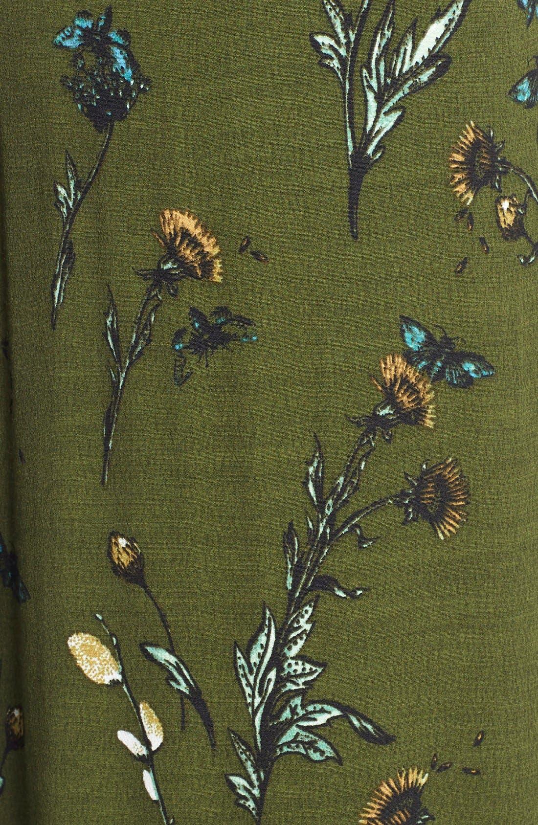 Alternate Image 5  - Hinge Floral Print Maxi Skirt