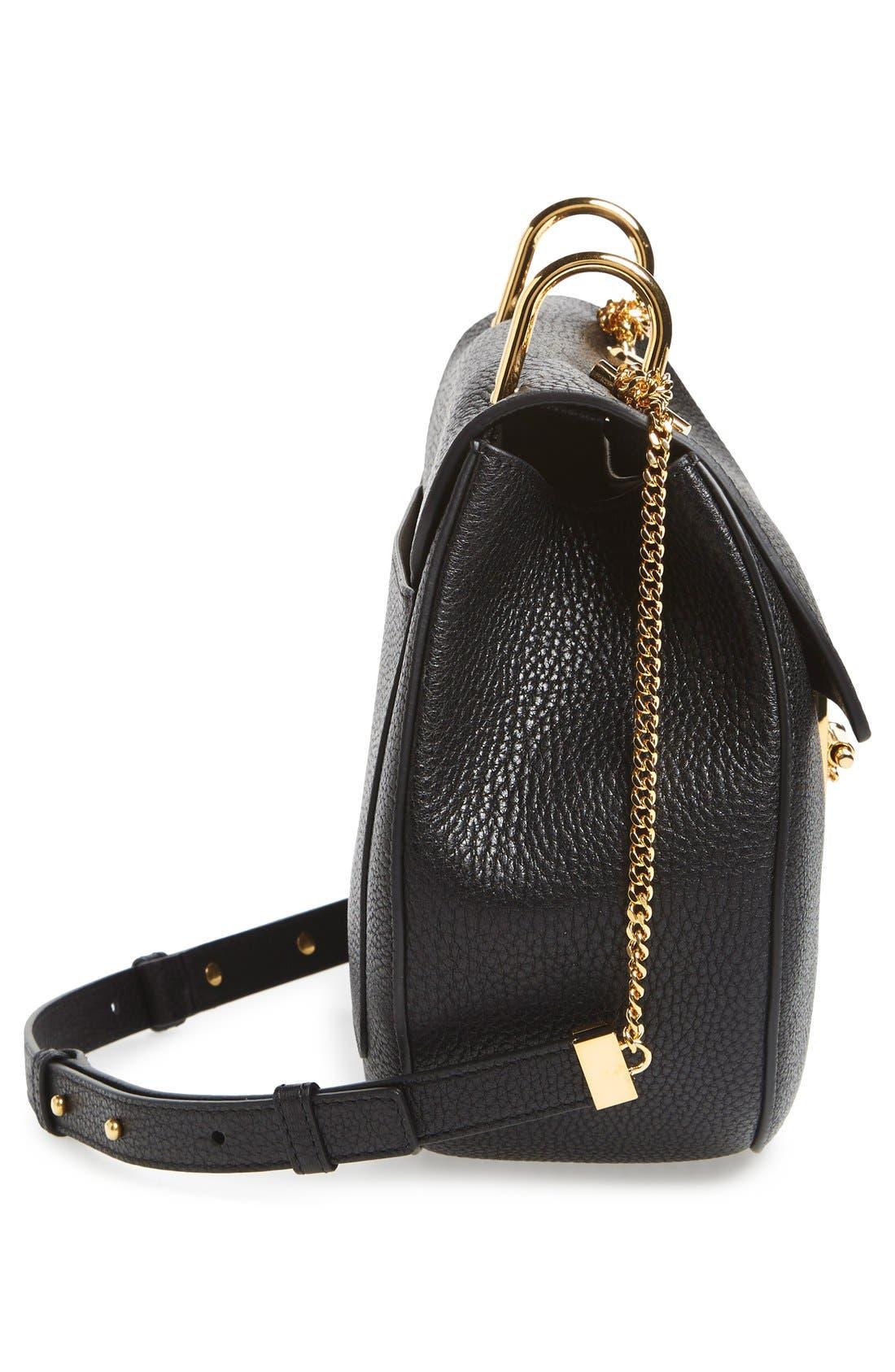 Alternate Image 5  - Chloé 'Drew' Lambskin Leather Shoulder Bag