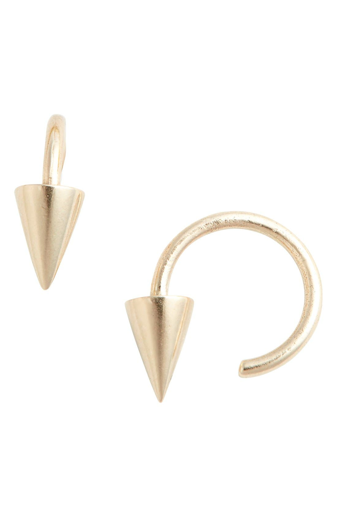 JULIEN DAVID 'Pierce Medium' Loop Earrings