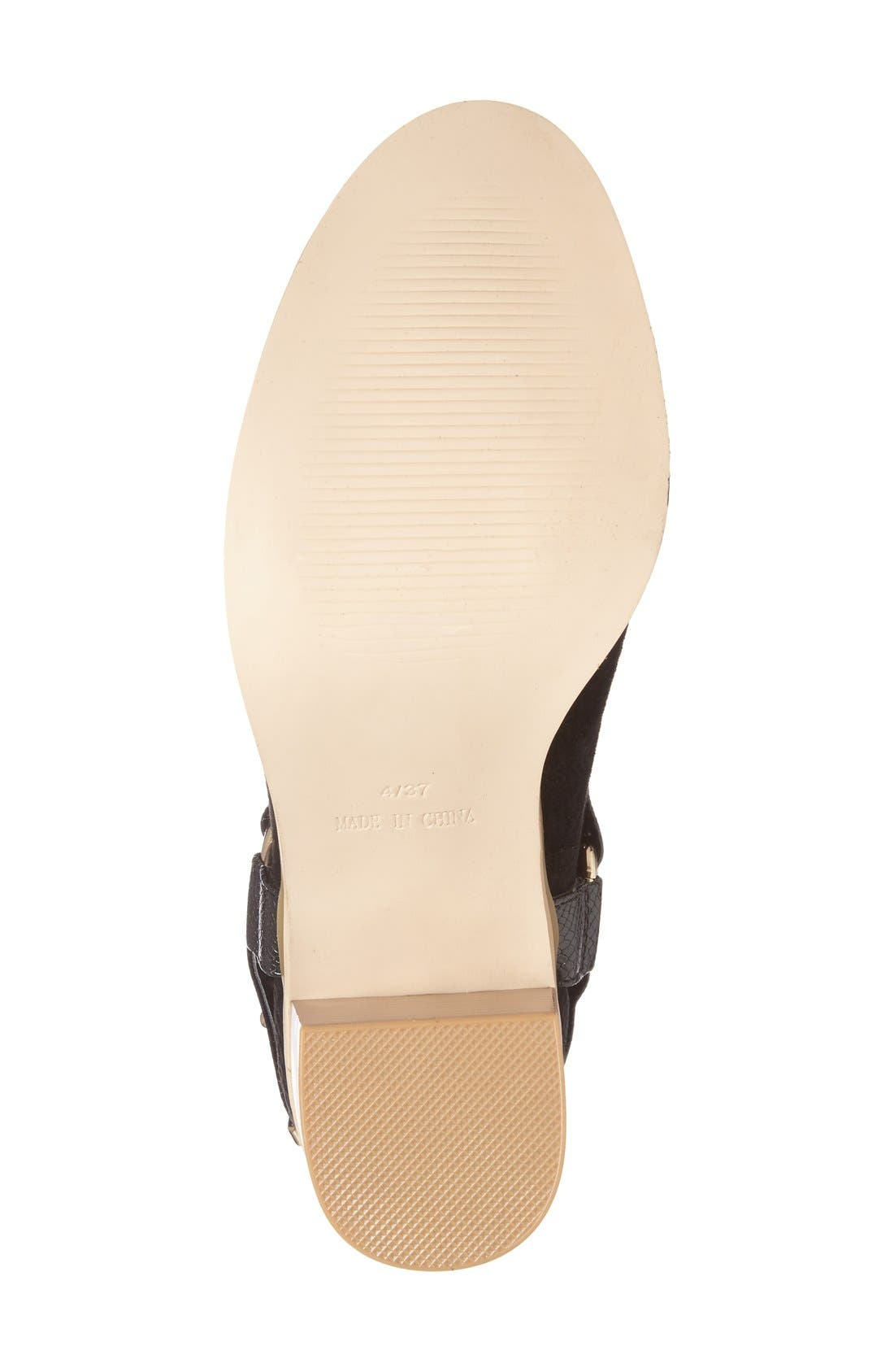 Alternate Image 4  - Topshop 'Beckley' Ring Strap Bootie (Women)