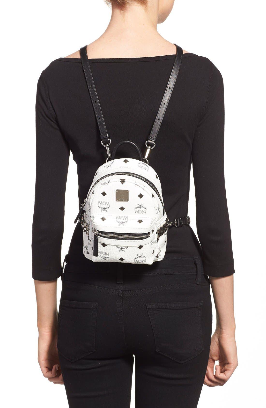 Alternate Image 2  - MCM 'X-Mini Stark Side Stud' Convertible Backpack