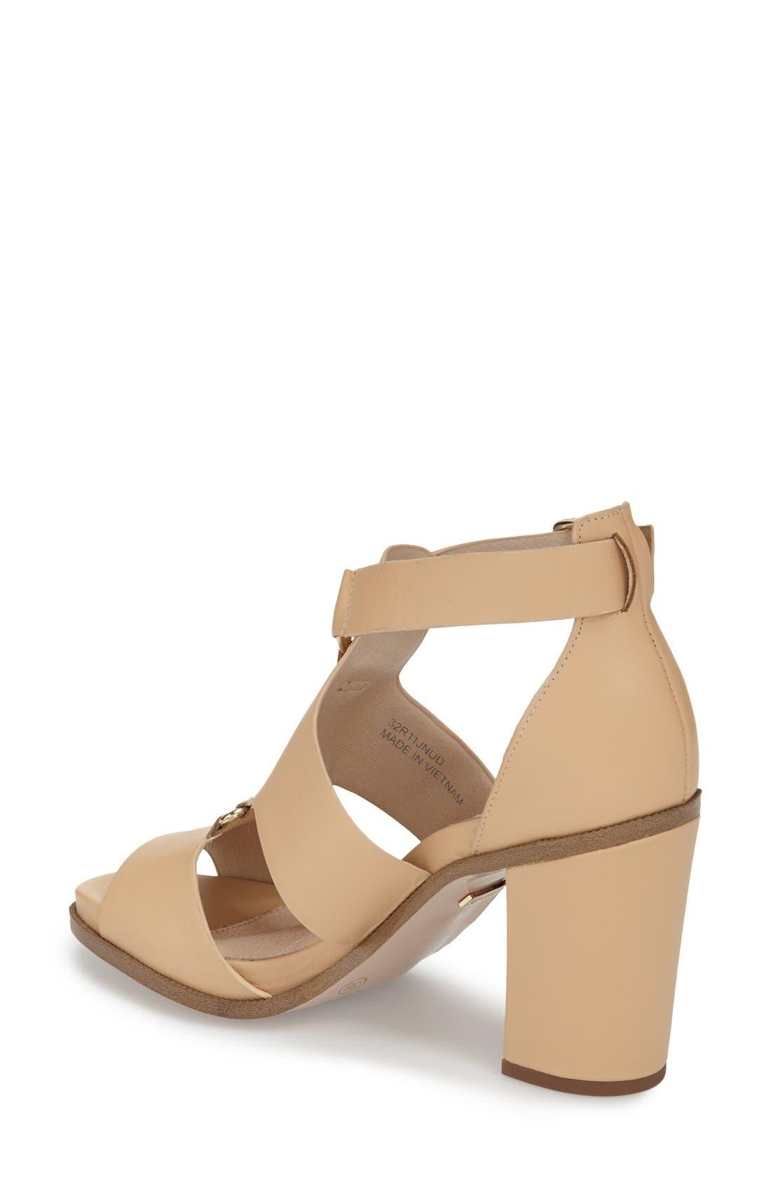 Alternate Image 2  - Topshop 'Rumba' Block Heel Sandal (Women)