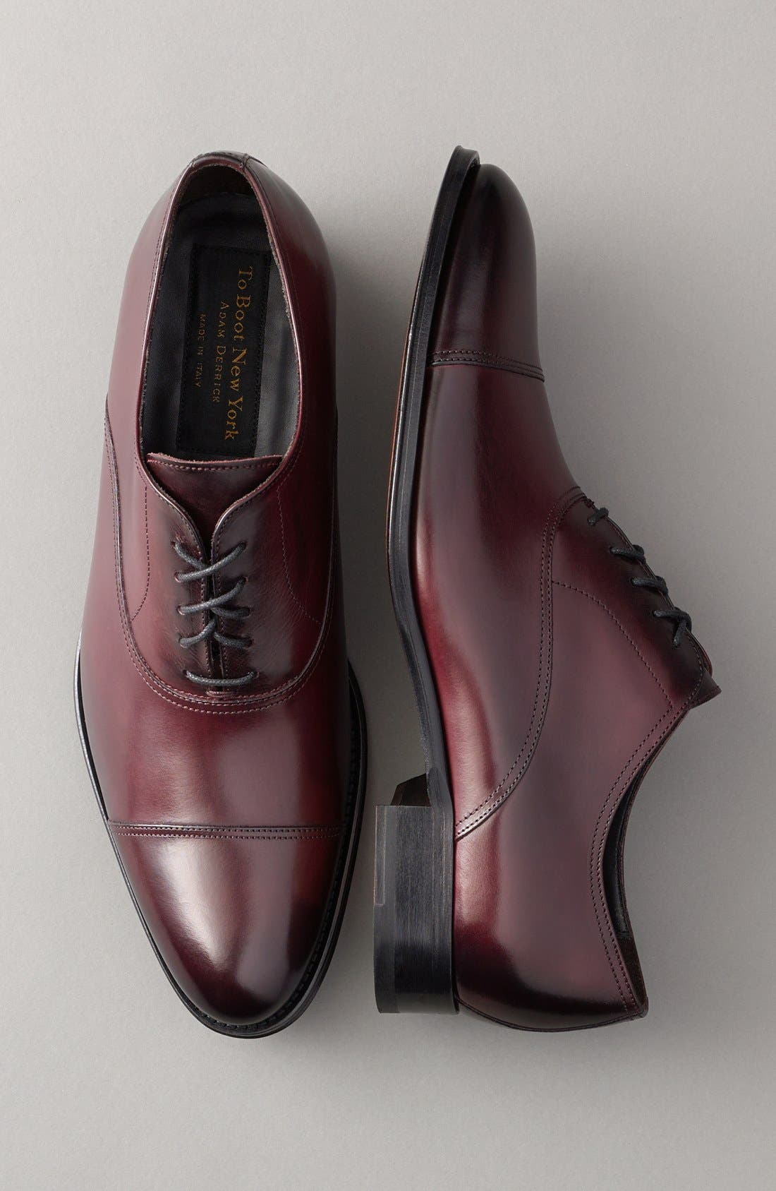 Alternate Image 5  - To Boot New York Brandon Cap Toe Oxford (Nordstrom Exclusive) (Men)