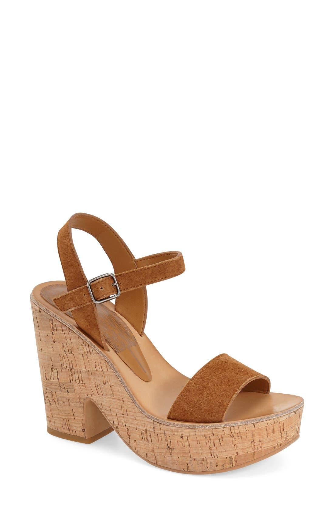Alternate Image 1 Selected - Dolce Vita 'Randi' Platform Sandal (Women)