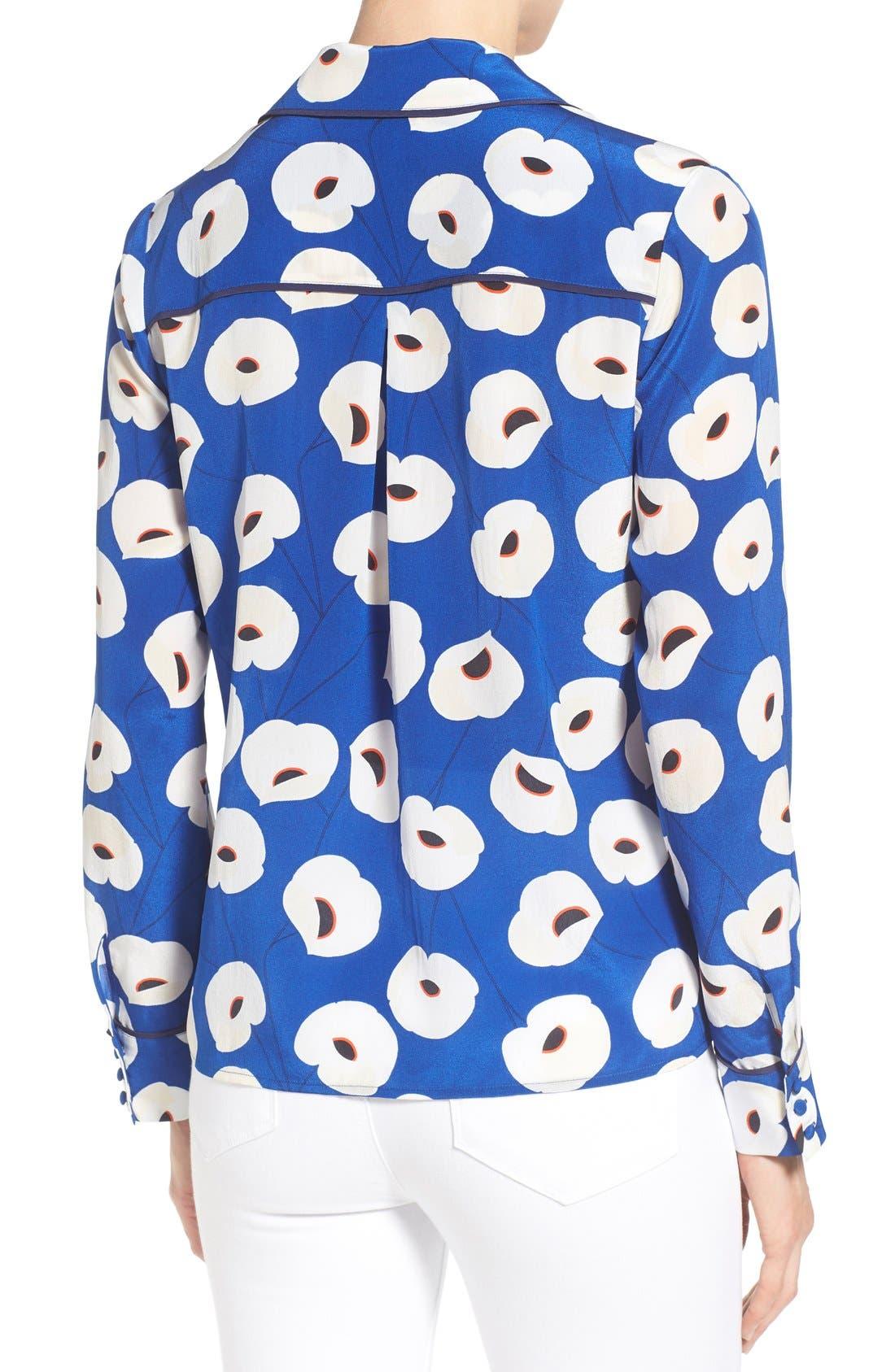 Alternate Image 2  - Olivia Palermo + Chelsea28 Silk Shirt