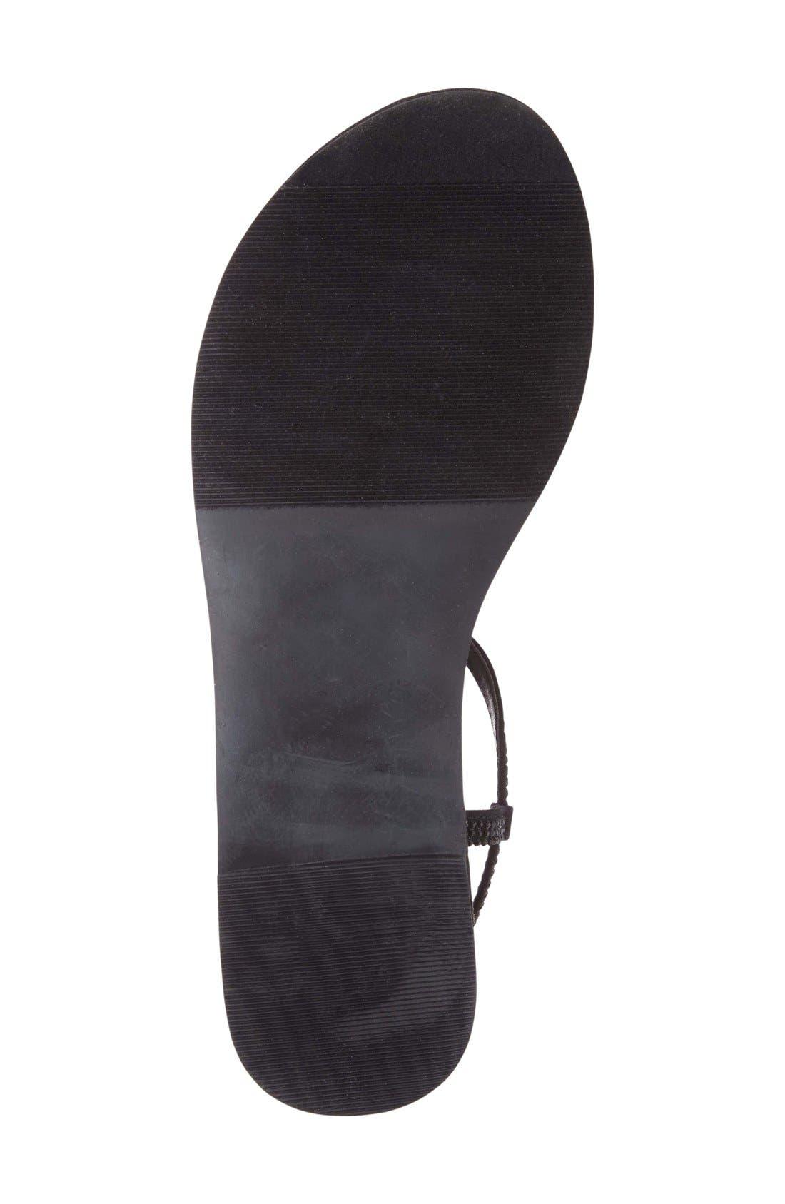 Alternate Image 4  - Athena Alexander 'Chique' Crystal Embellished Flat Sandal (Women)