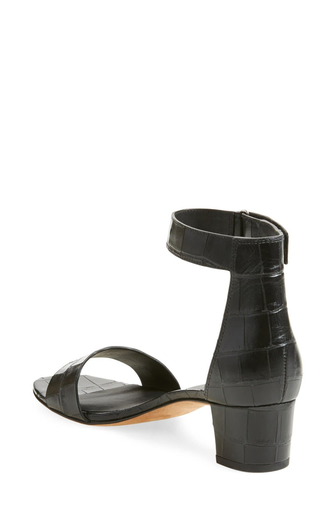 Alternate Image 2  - Vince 'Rita' Leather Ankle Strap Sandal (Women)