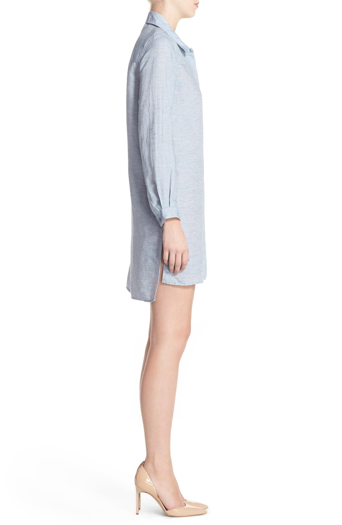 Alternate Image 3  - French Connection Chambray Shirtdress