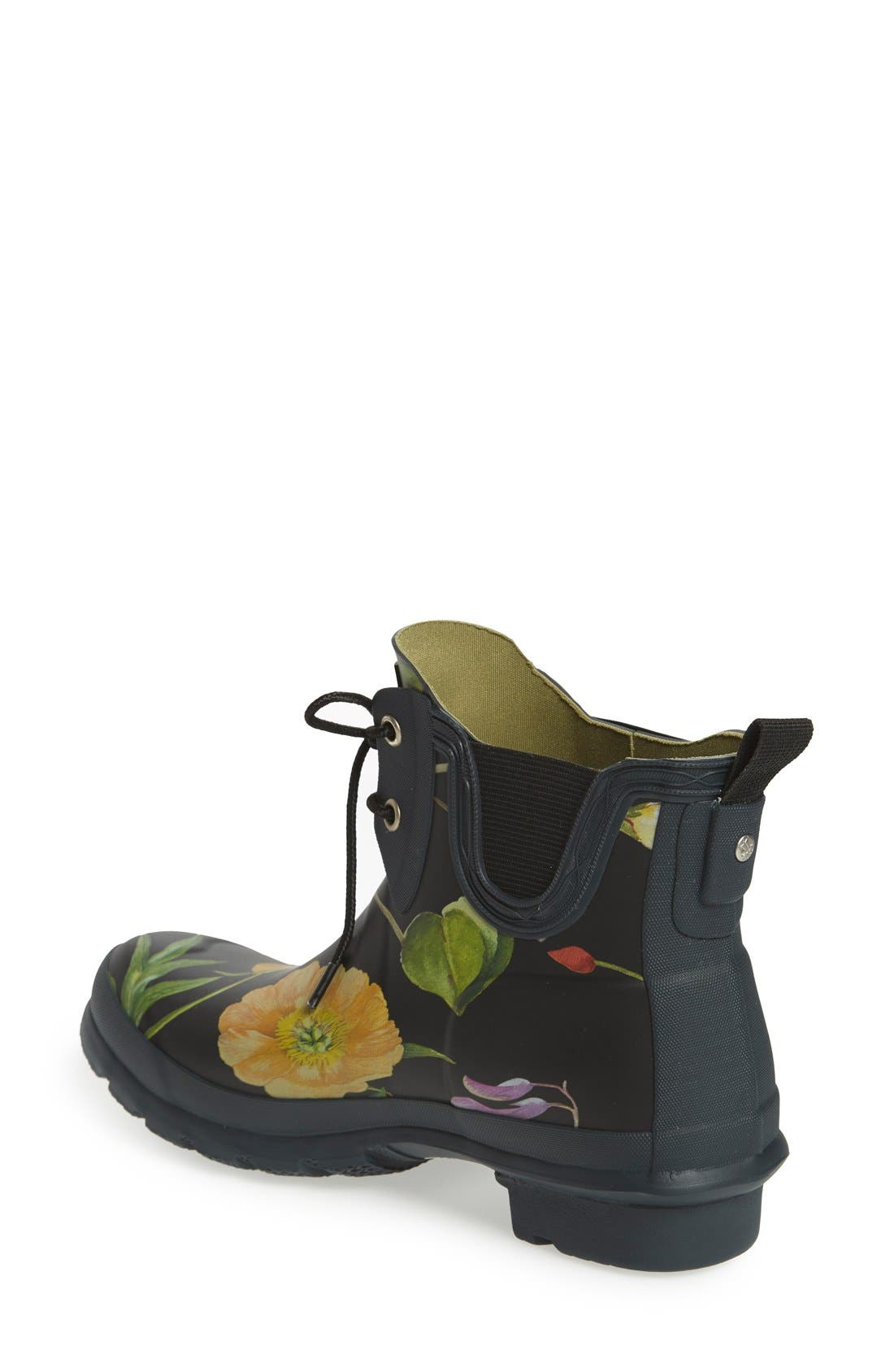 Alternate Image 2  - Hunter 'Royal Horticultural Society' Waterproof Lace-Up Short Rain Boot (Women)