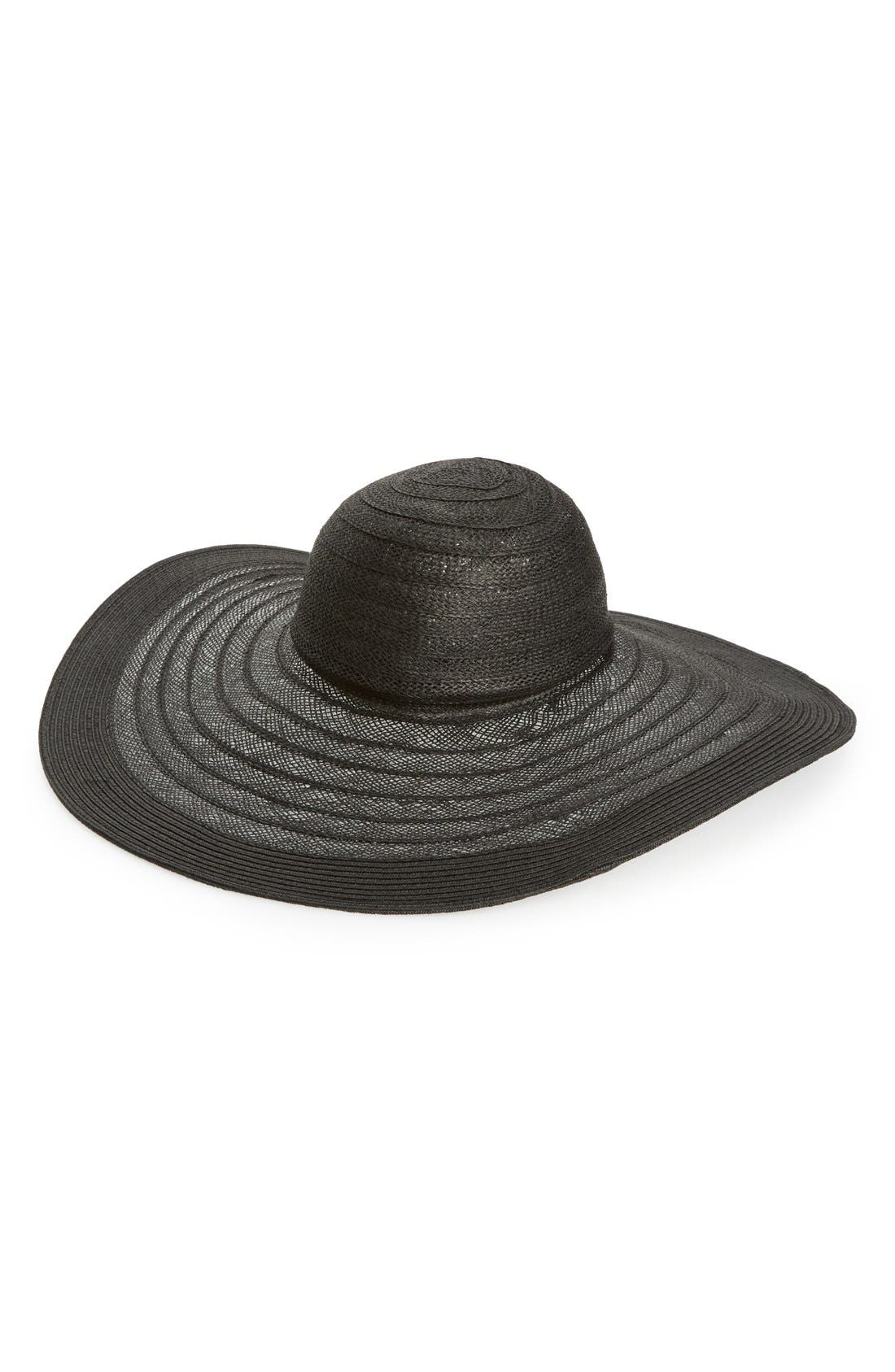 Alternate Image 1 Selected - Nordstrom Floppy Straw Hat