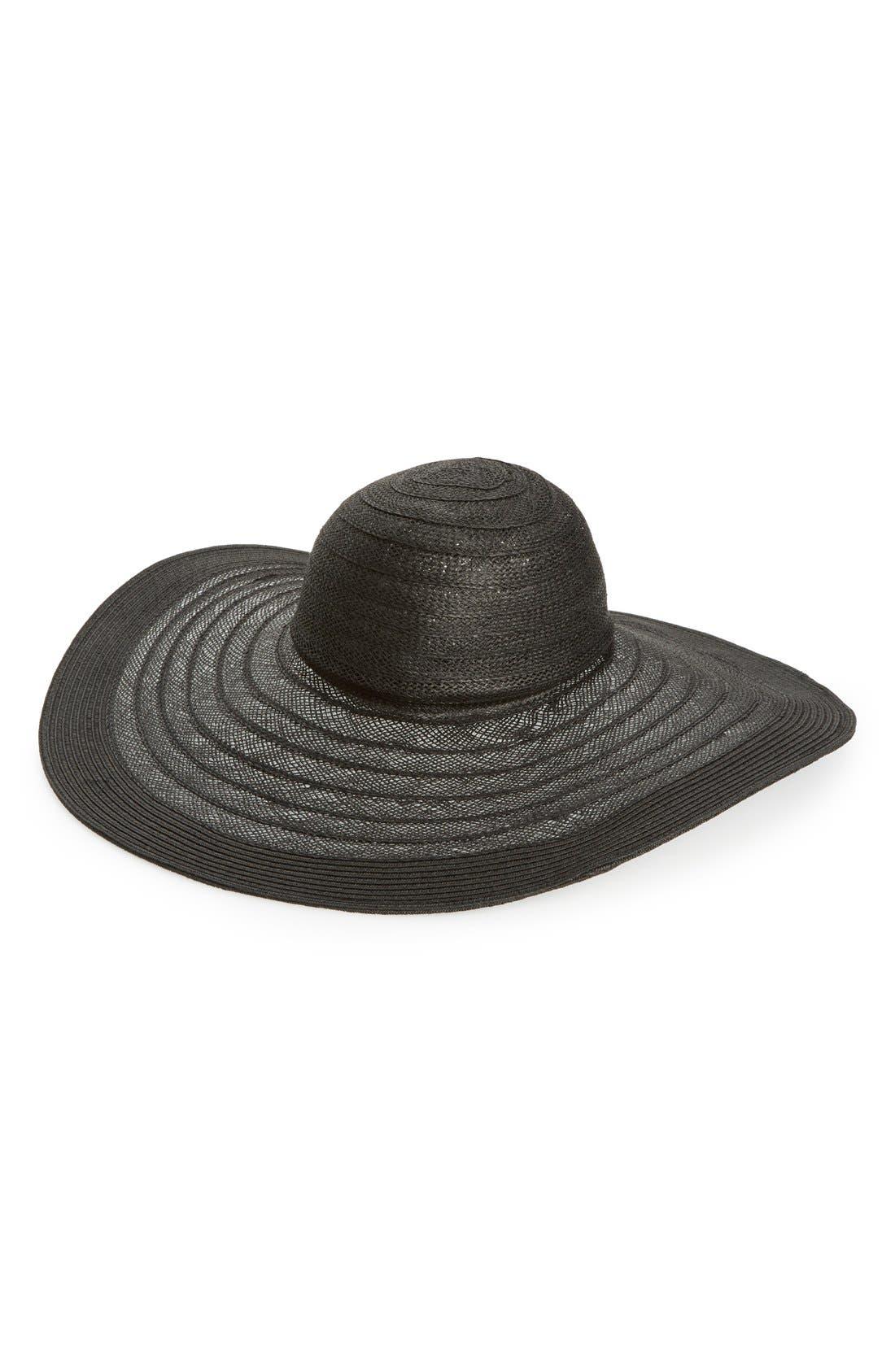 Main Image - Nordstrom Floppy Straw Hat