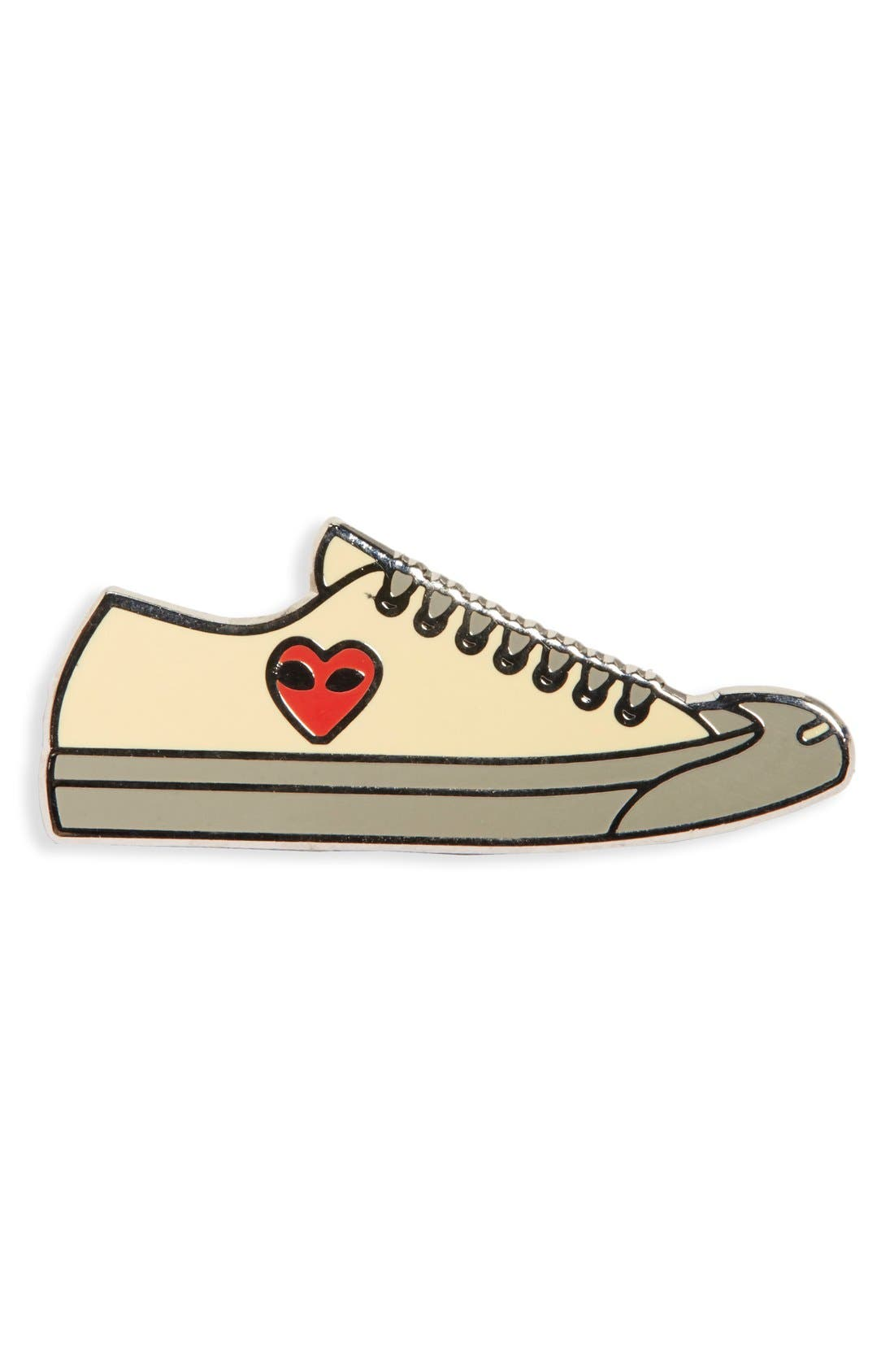 Alternate Image 1 Selected - PINTRILL 'Low Top Sneaker' Fashion Accessory Pin
