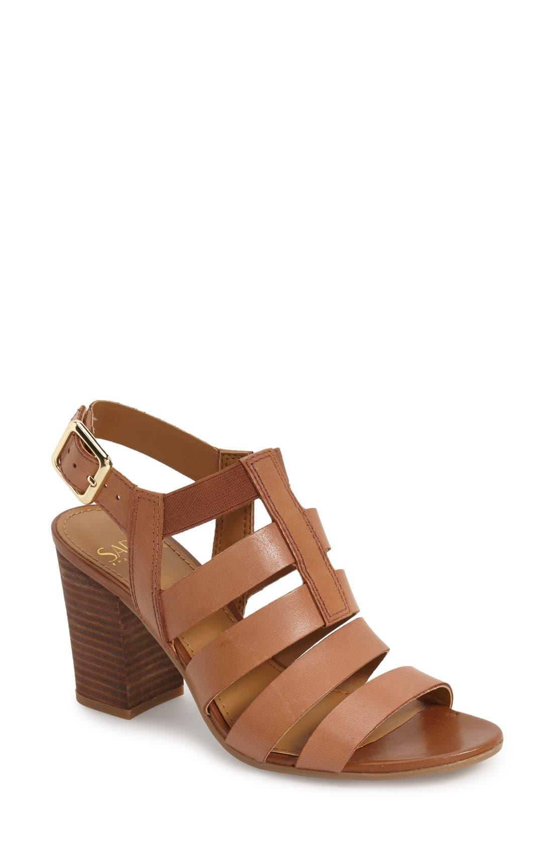 Alternate Image 1 Selected - Franco Sarto 'Montage' Leather Sandal (Women)