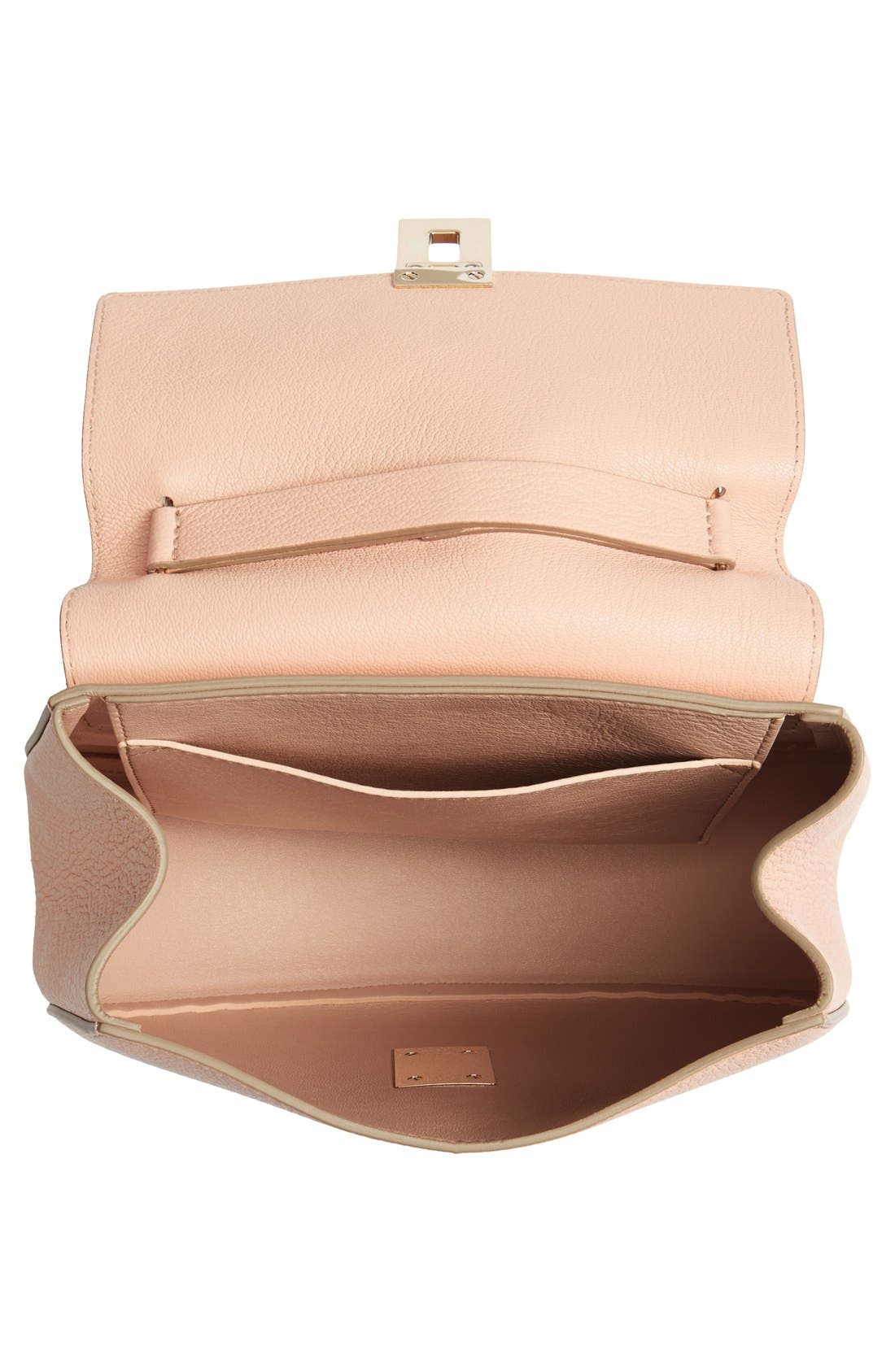 Alternate Image 4  - Chloé 'Small Drew' Goatskin Leather Shoulder Bag