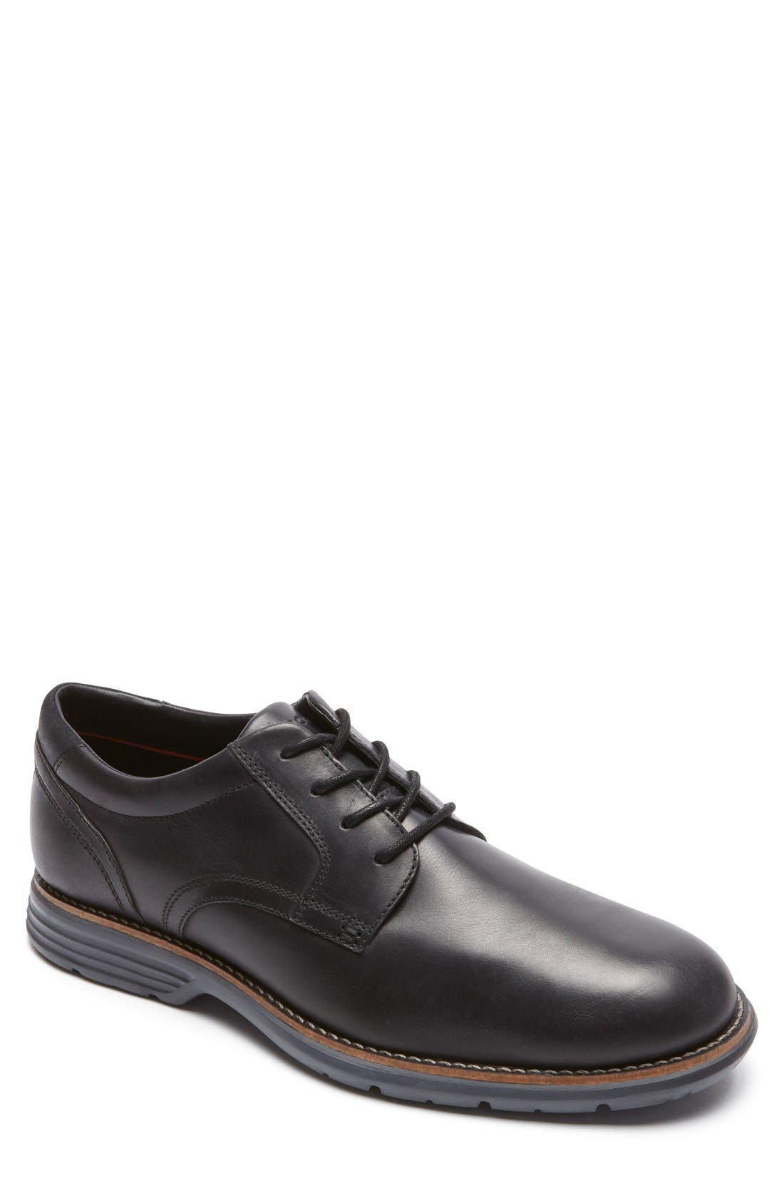 Rockport Total Motion Fusion Plain Toe Derby (Men)
