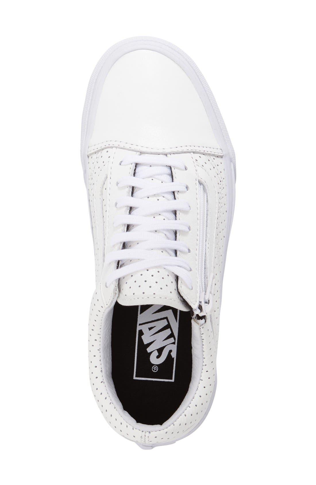Alternate Image 3  - Vans 'Old Skool' Zip Sneaker (Women)