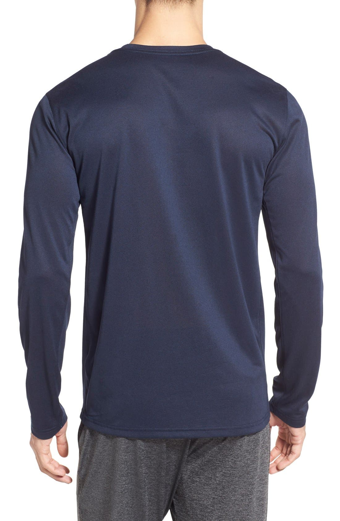 Alternate Image 2  - Nike 'Legend 2.0' Long Sleeve Dri-FIT Training T-Shirt
