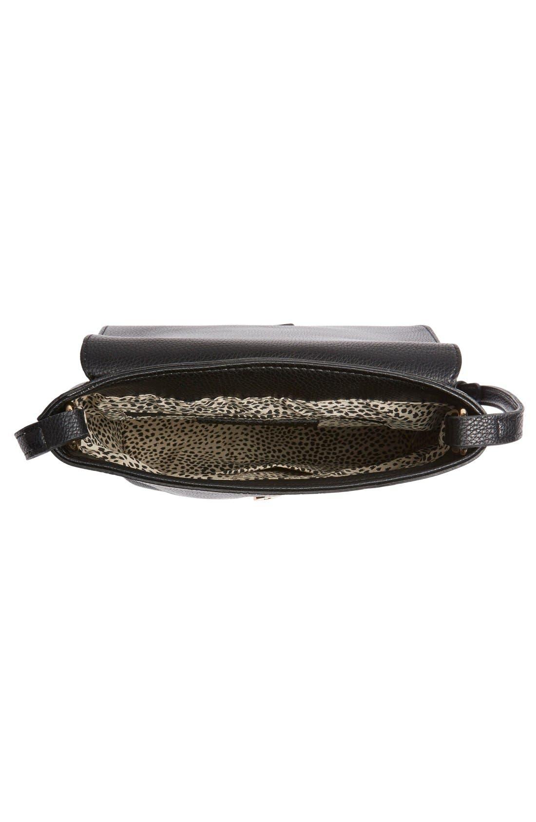 Alternate Image 4  - Sole Society Tassel Faux Leather Crossbody Bag